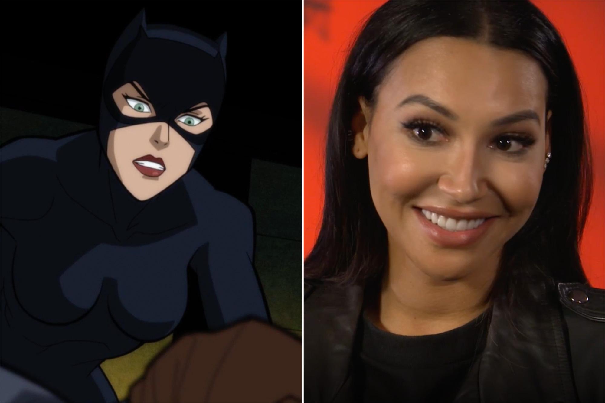 Naya Rivera as Catwoman in 'Batman: The Long Halloween'