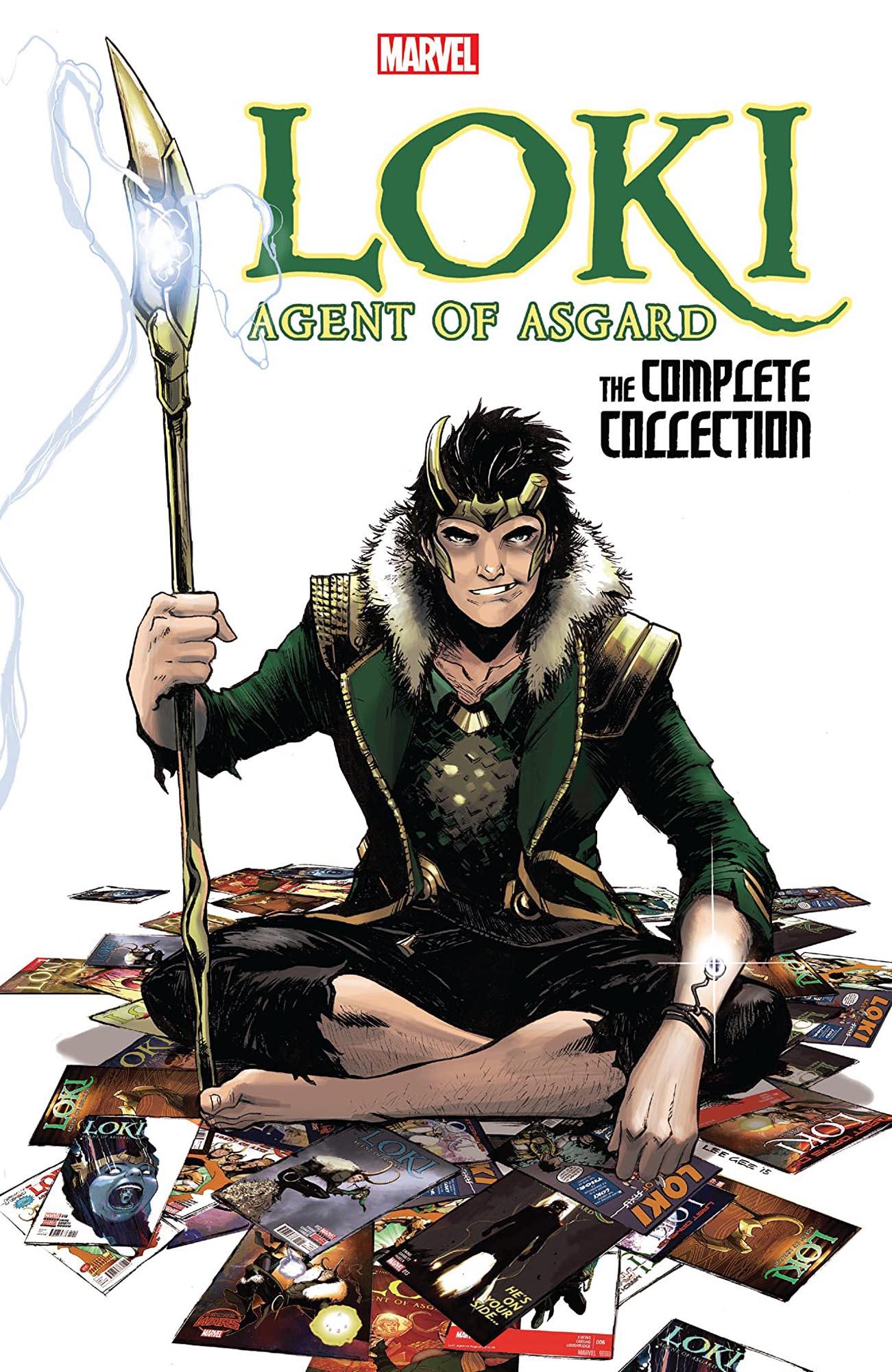 Loki comics- Loki: Agent Of Asgard