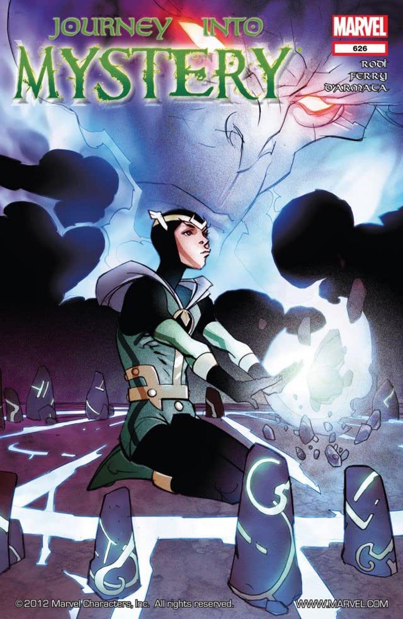 Loki comics - Journey Into Mystery