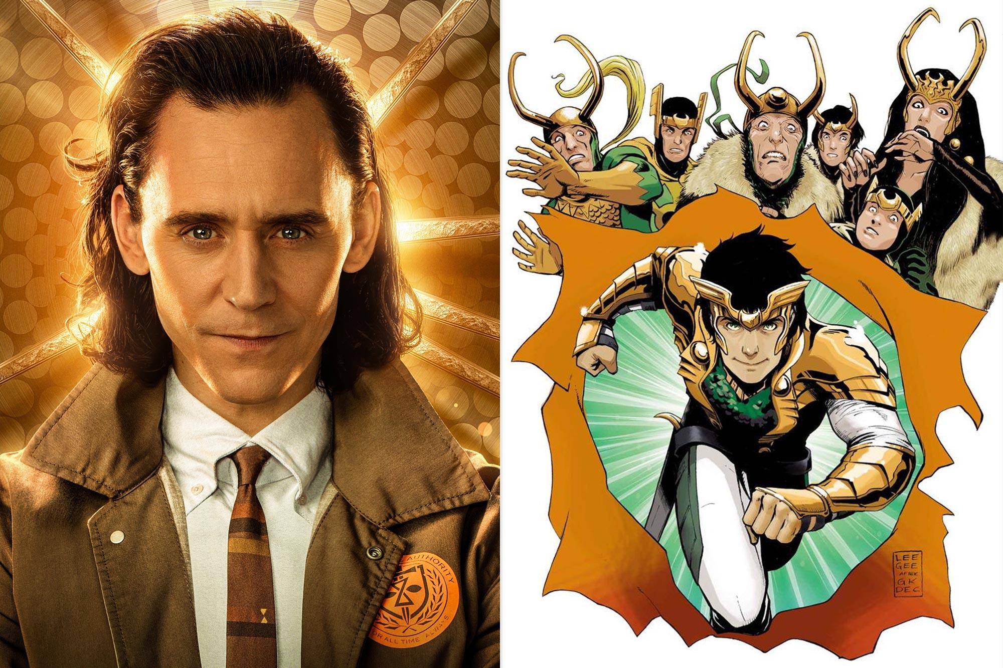 The Many Faces of Loki