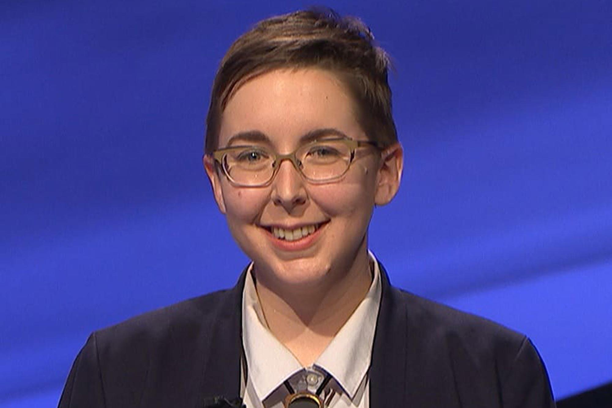 Katie Sekelsky on Jeopardy