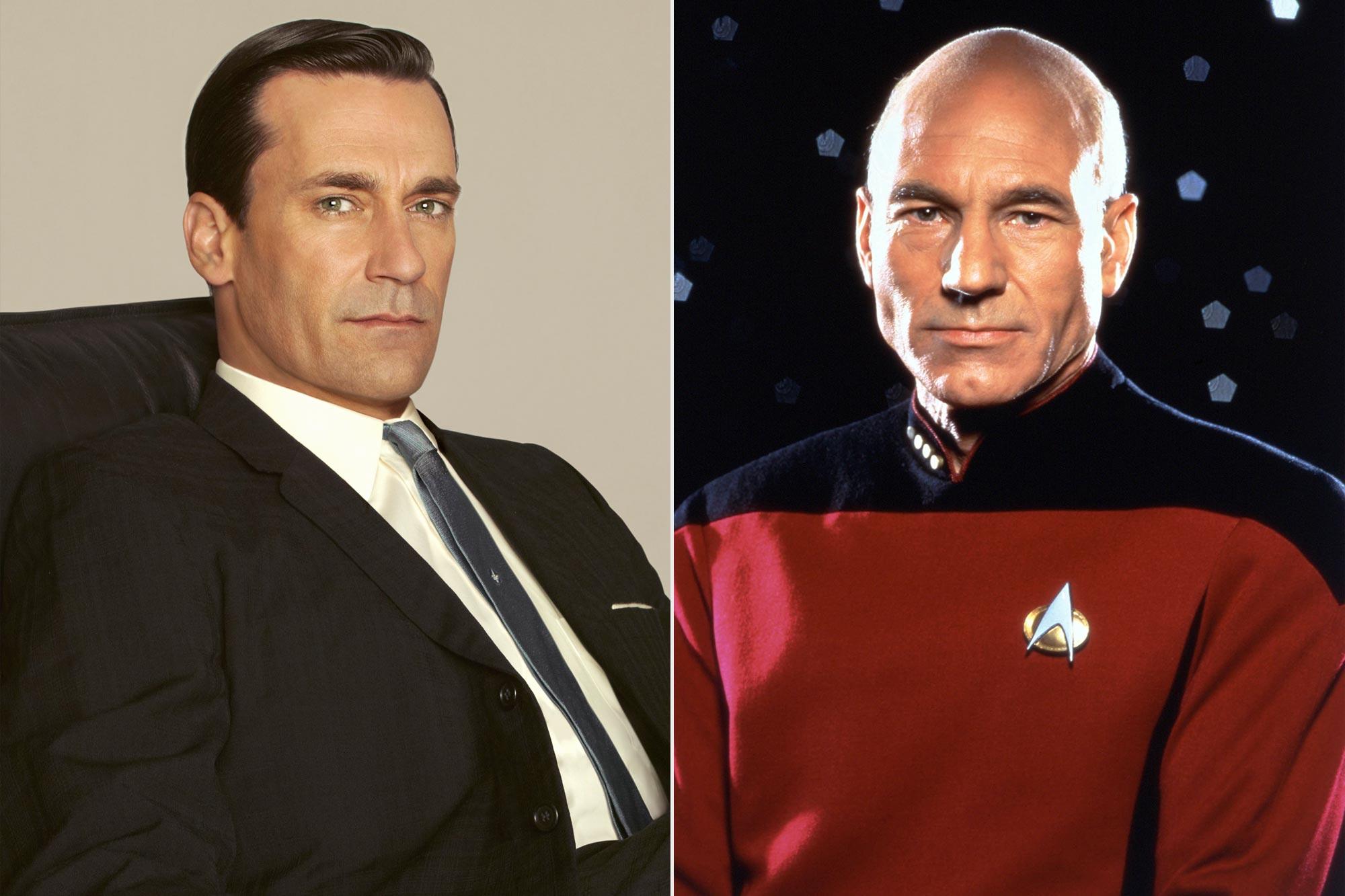 Mad Men; Star Trek: The Next Generation