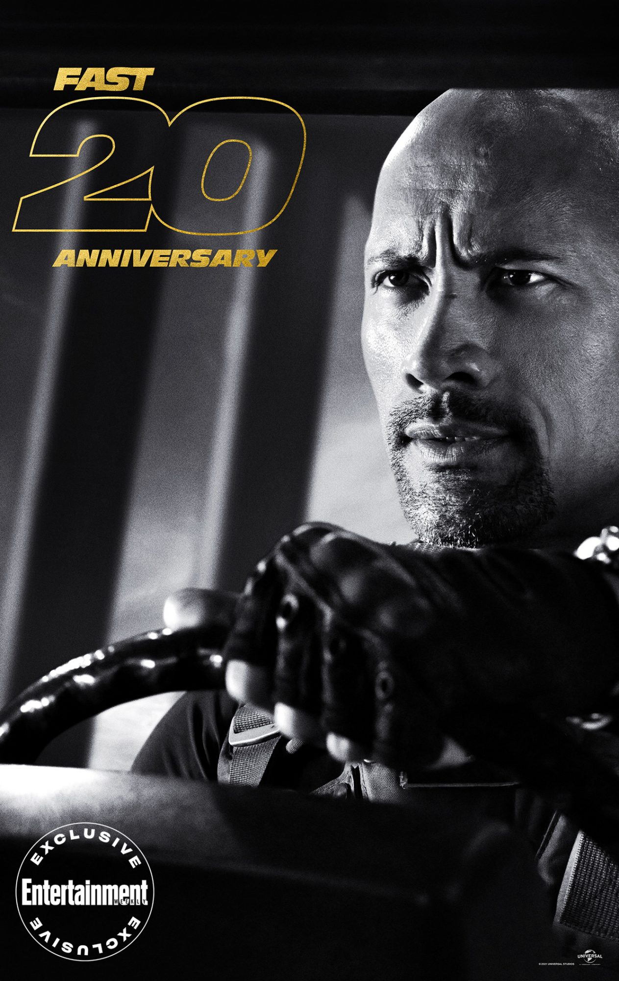 Fast and Furious 20th anniversary posters