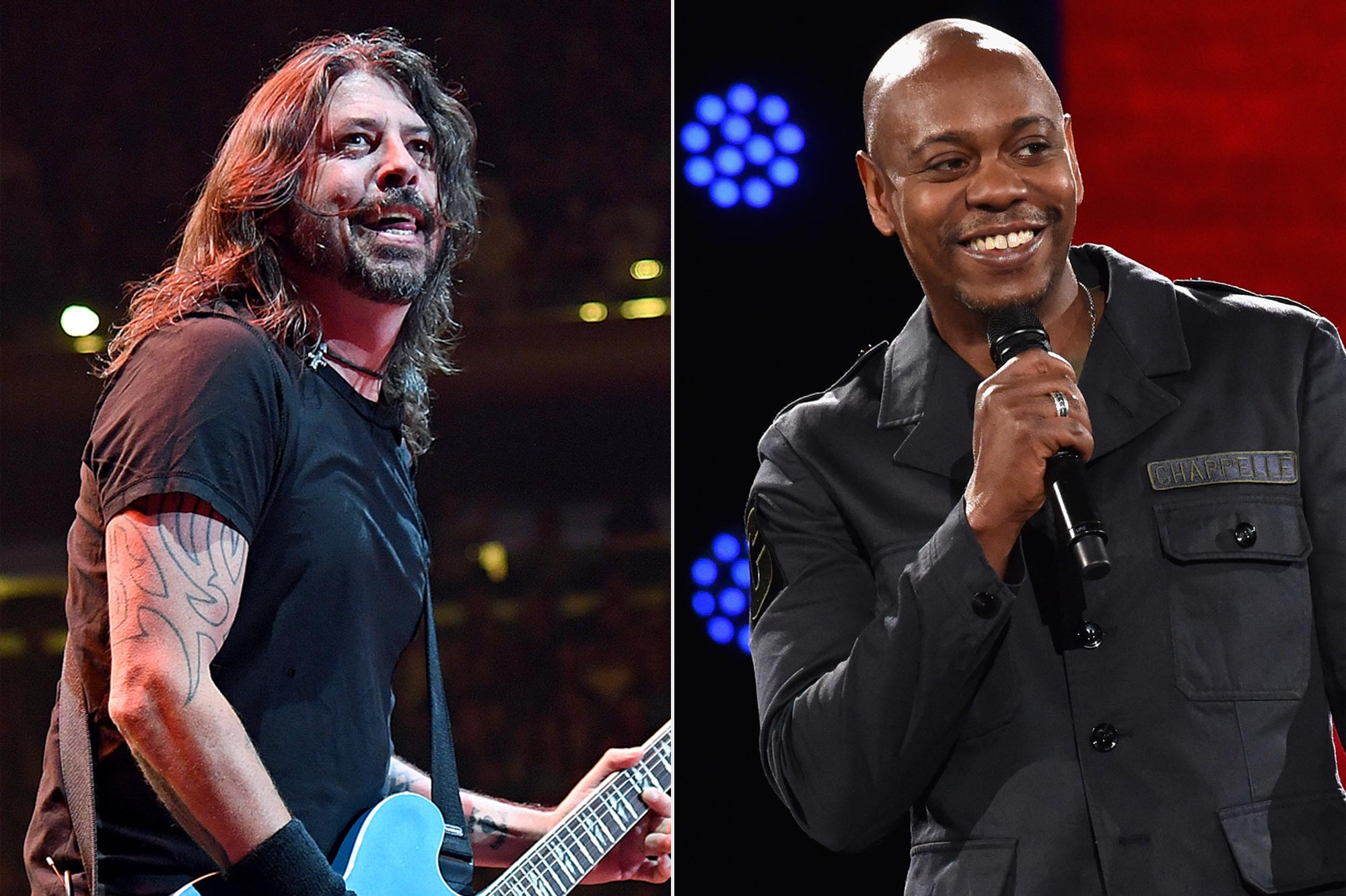Foo Fighters; Dave Chapelle