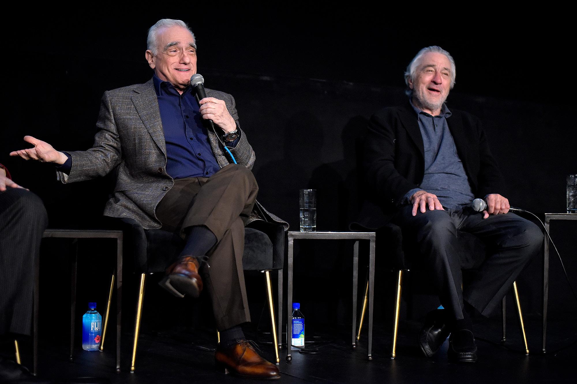 Martin Scorsese and actor Robert De Niro