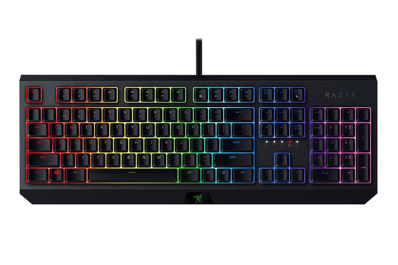 Razer BlackWidow - Wired Gaming Mechanical Green Switch Keyboard with RGB Chroma Backlighting