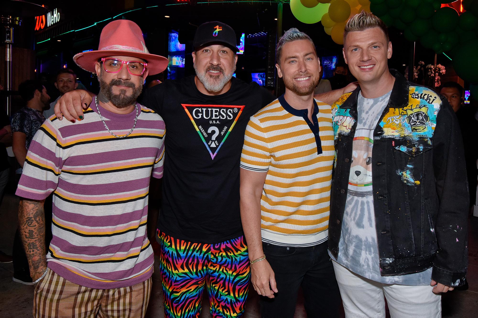NSYNC And Backstreet Boys