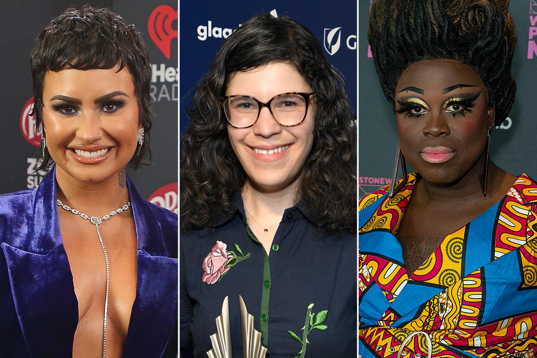 Demi Lovato; Rebecca Sugar; Bob the Drag Queen