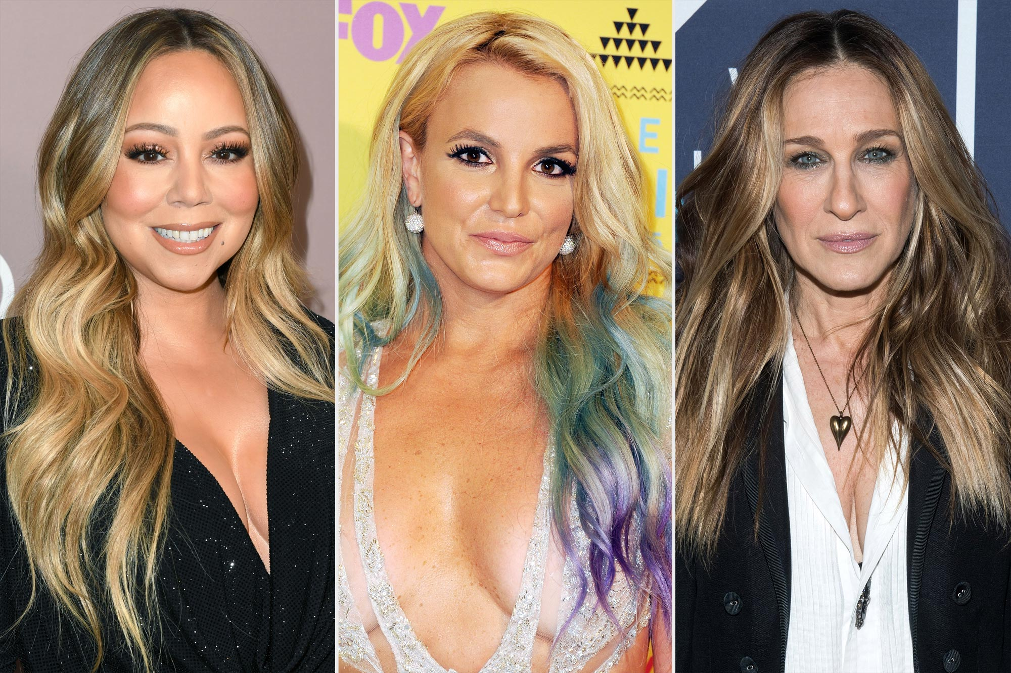 Mariah Carey; Britney Spears; Sarah Jessica Parker