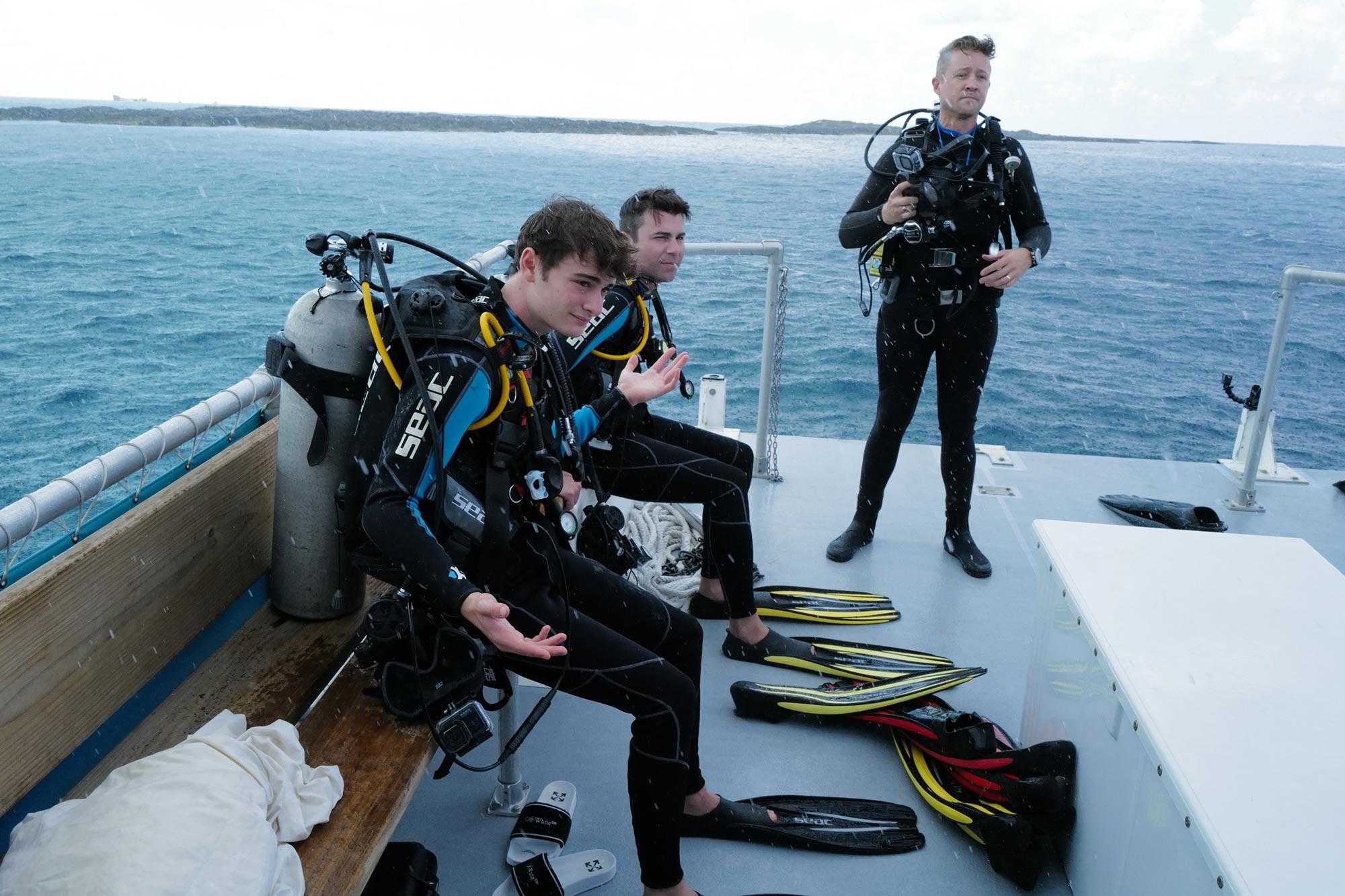 Stranger Sharks - Noah Schnapp, Mark Rober, and Luke Tipple