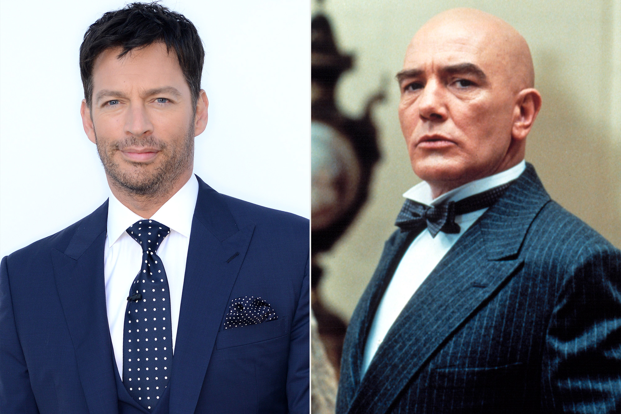 Harry Connick Jr. and Albert Finney as Daddy Warbucks from Annie