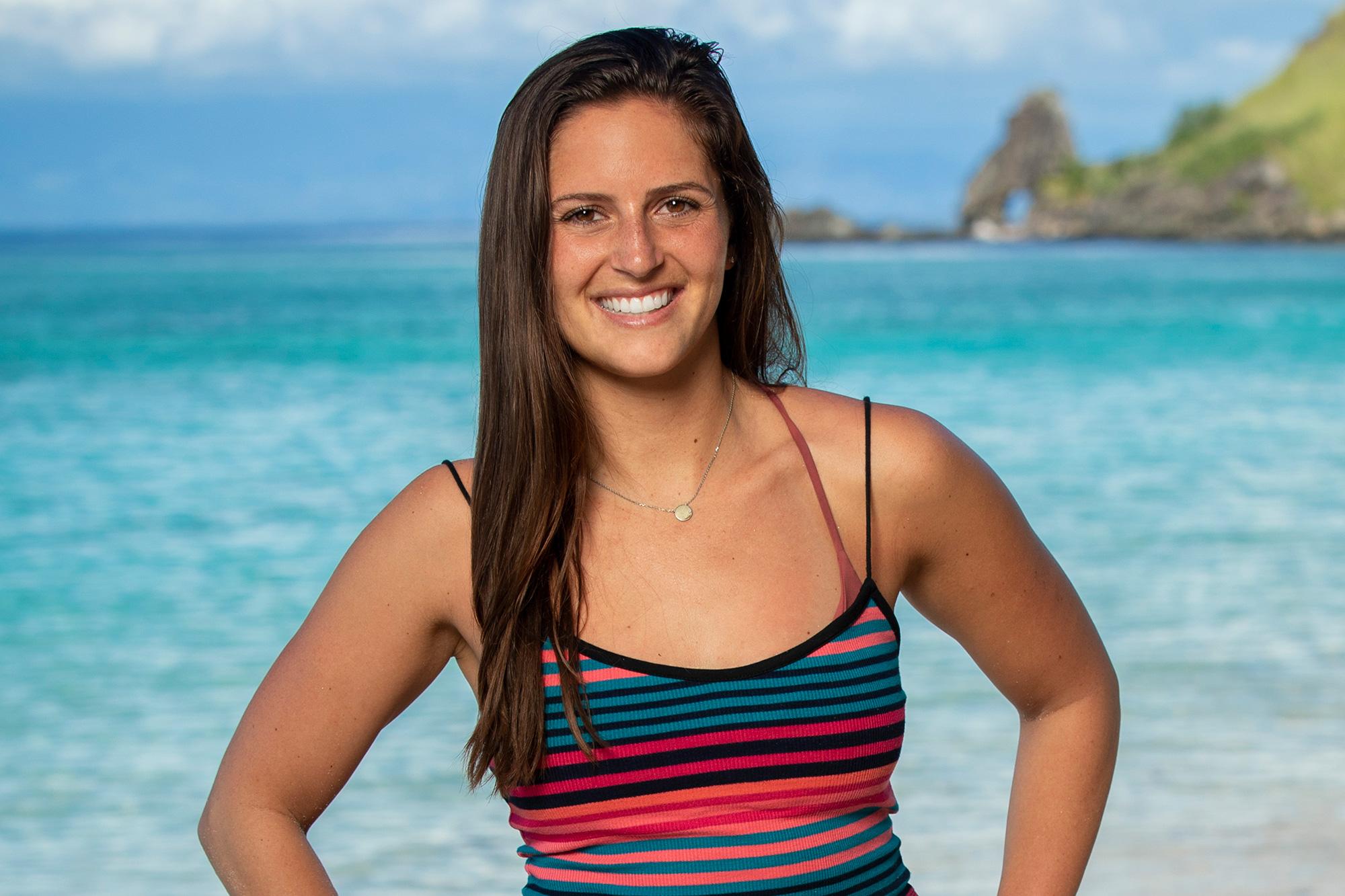 Chelsea Walker competes on SURVIVOR: Island of the Idols