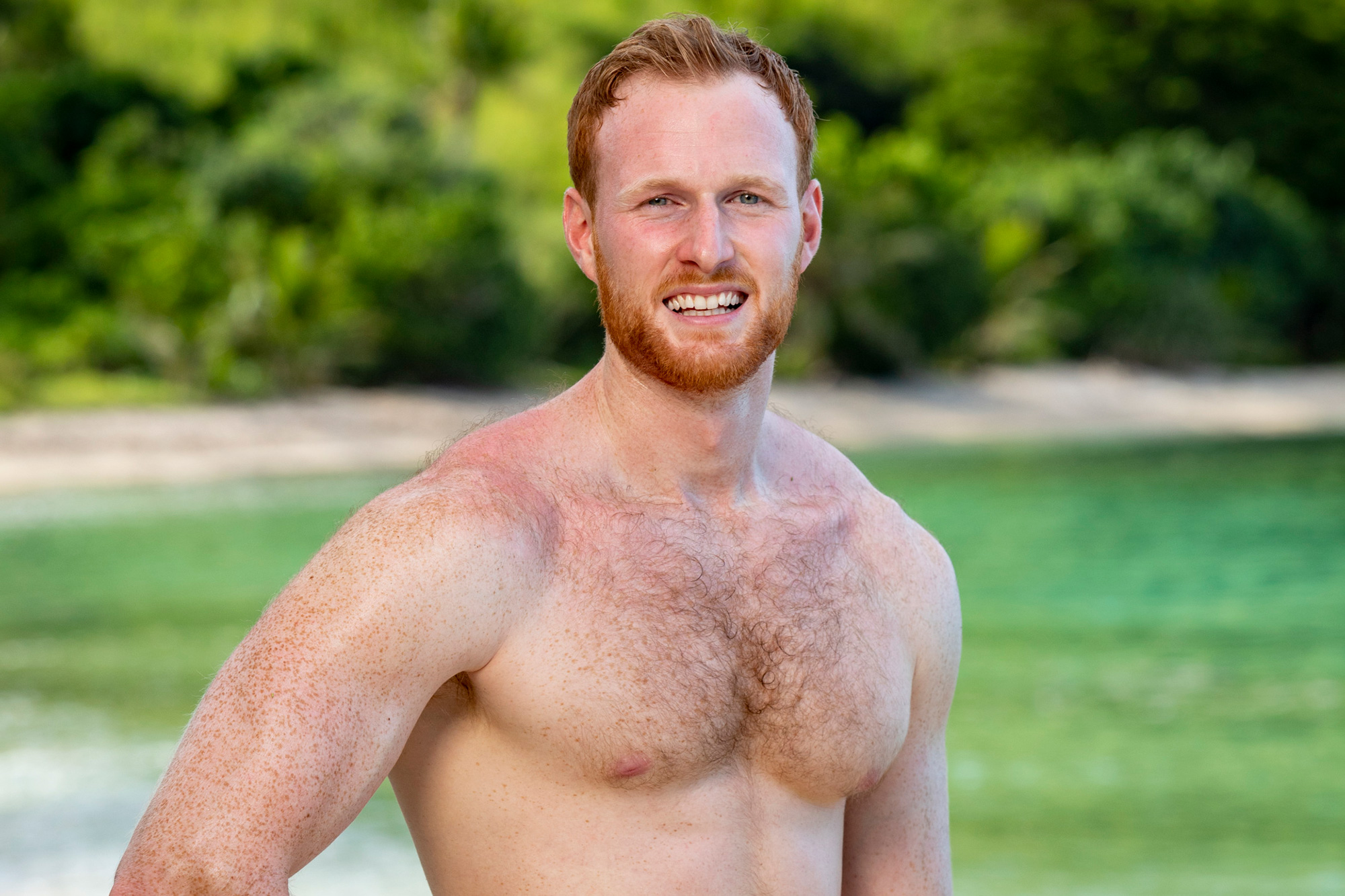 Tommy Sheehan competes on SURVIVOR: Island of the Idols