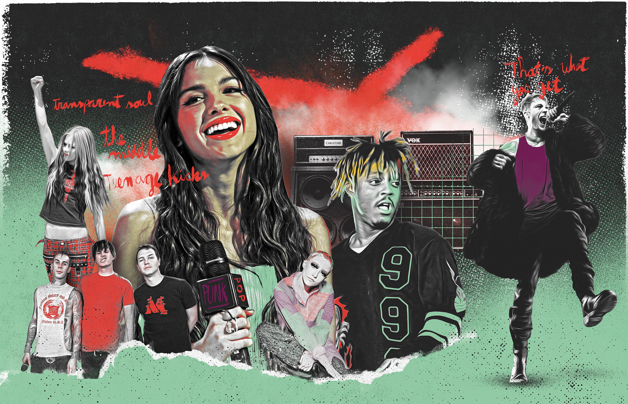 Punk Pop Illustration