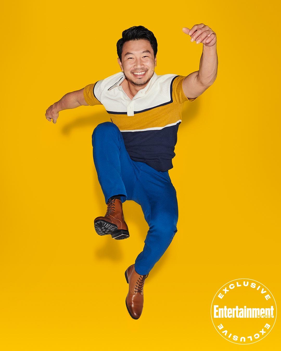 Simu Liu August 2021 cover