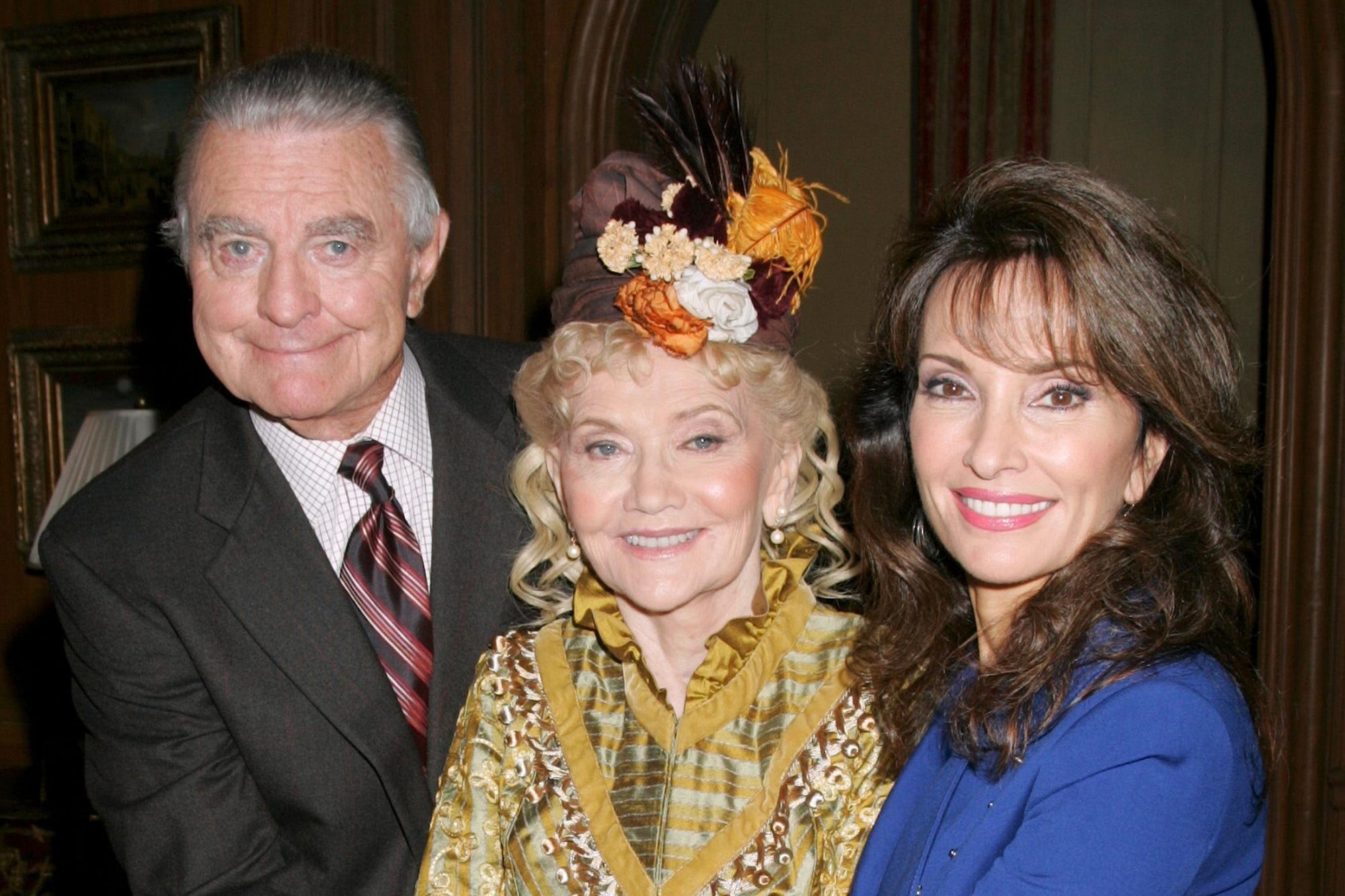 Ray MacDonnell, Agnes Nixon, creator/writer and Susan Lucci