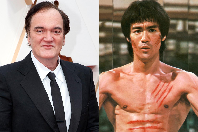 QUENTIN TARANTINO; Bruce Lee
