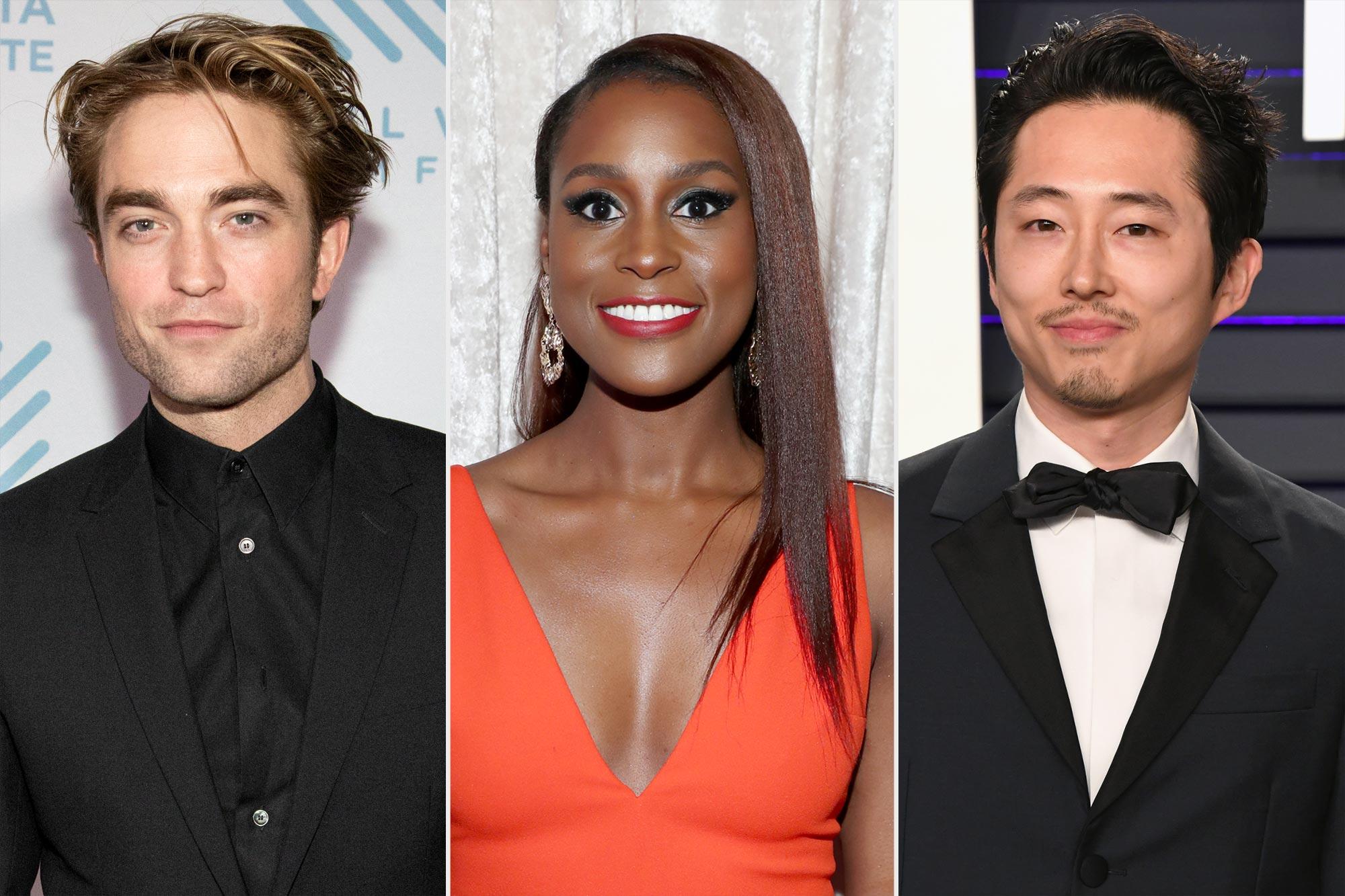 Robert Pattinson, Issa Rae, and Steven Yeun