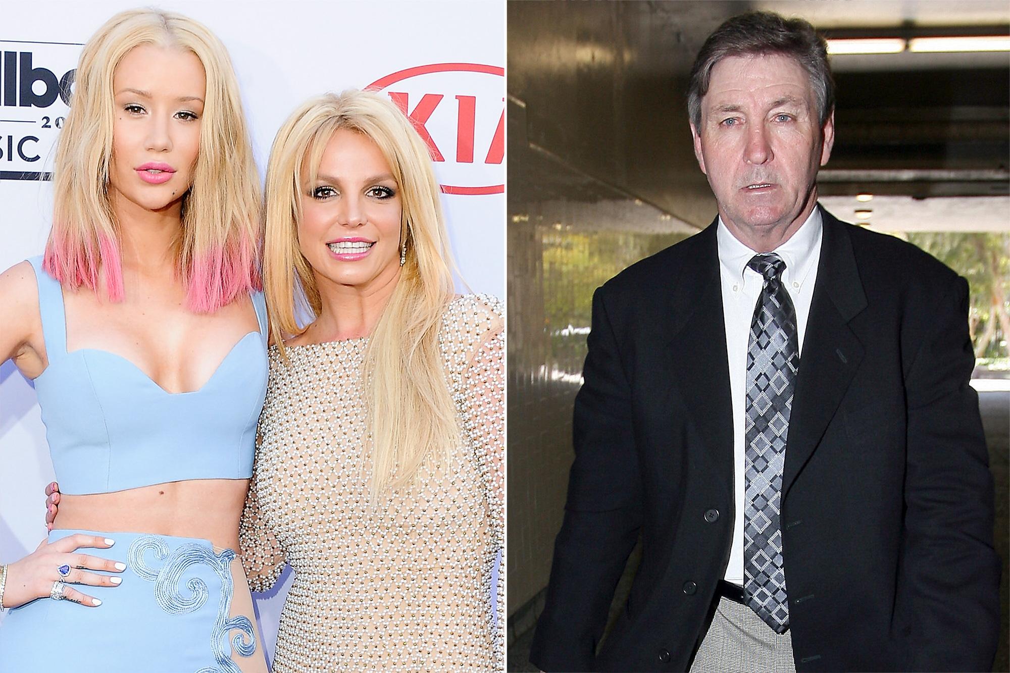 Iggy Azalea and Britney Spears, Jamie Spears