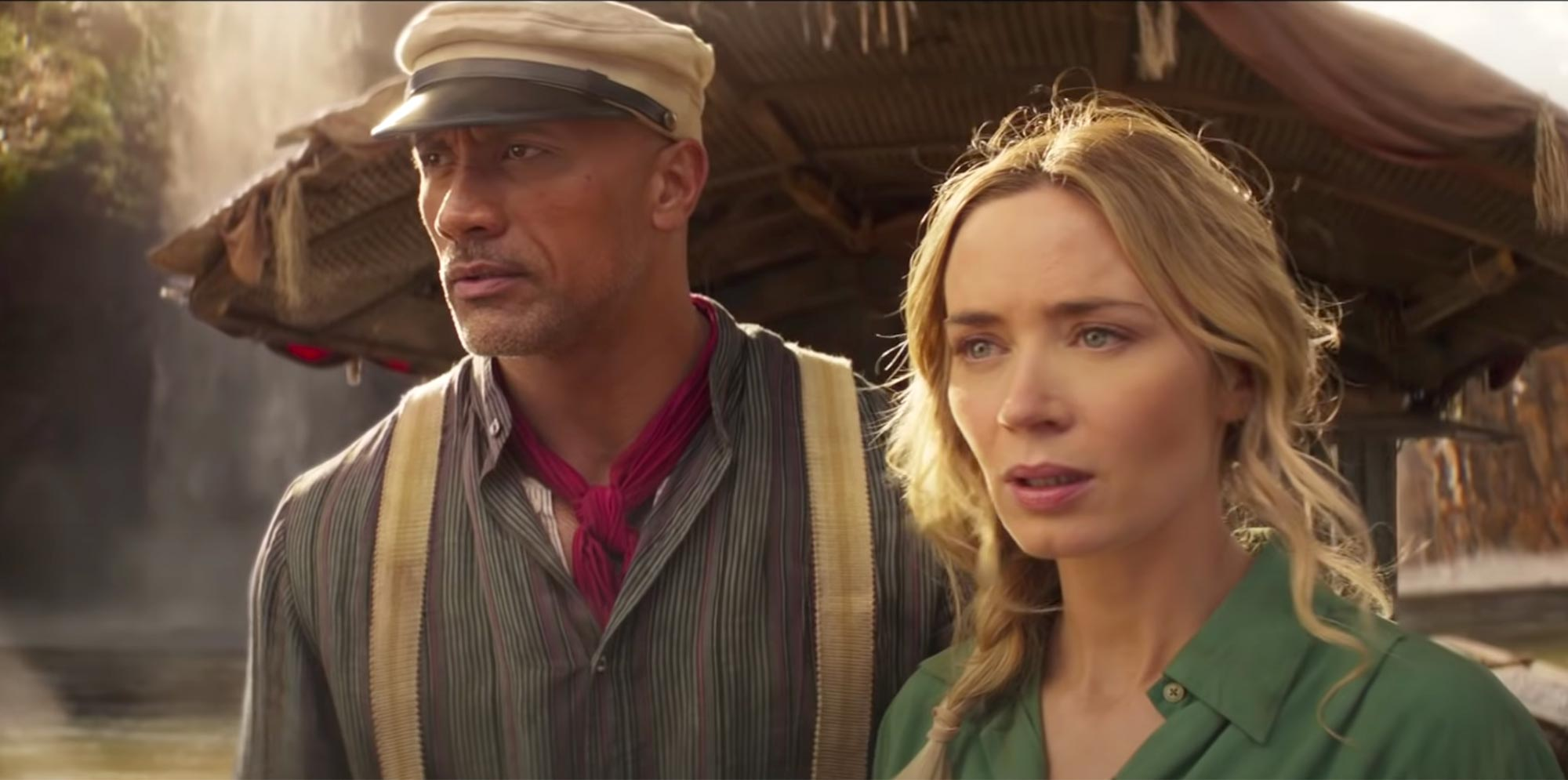 Dwayne Johnson, Emily Blunt face off in new 'Jungle Cruise' trailers | EW.com