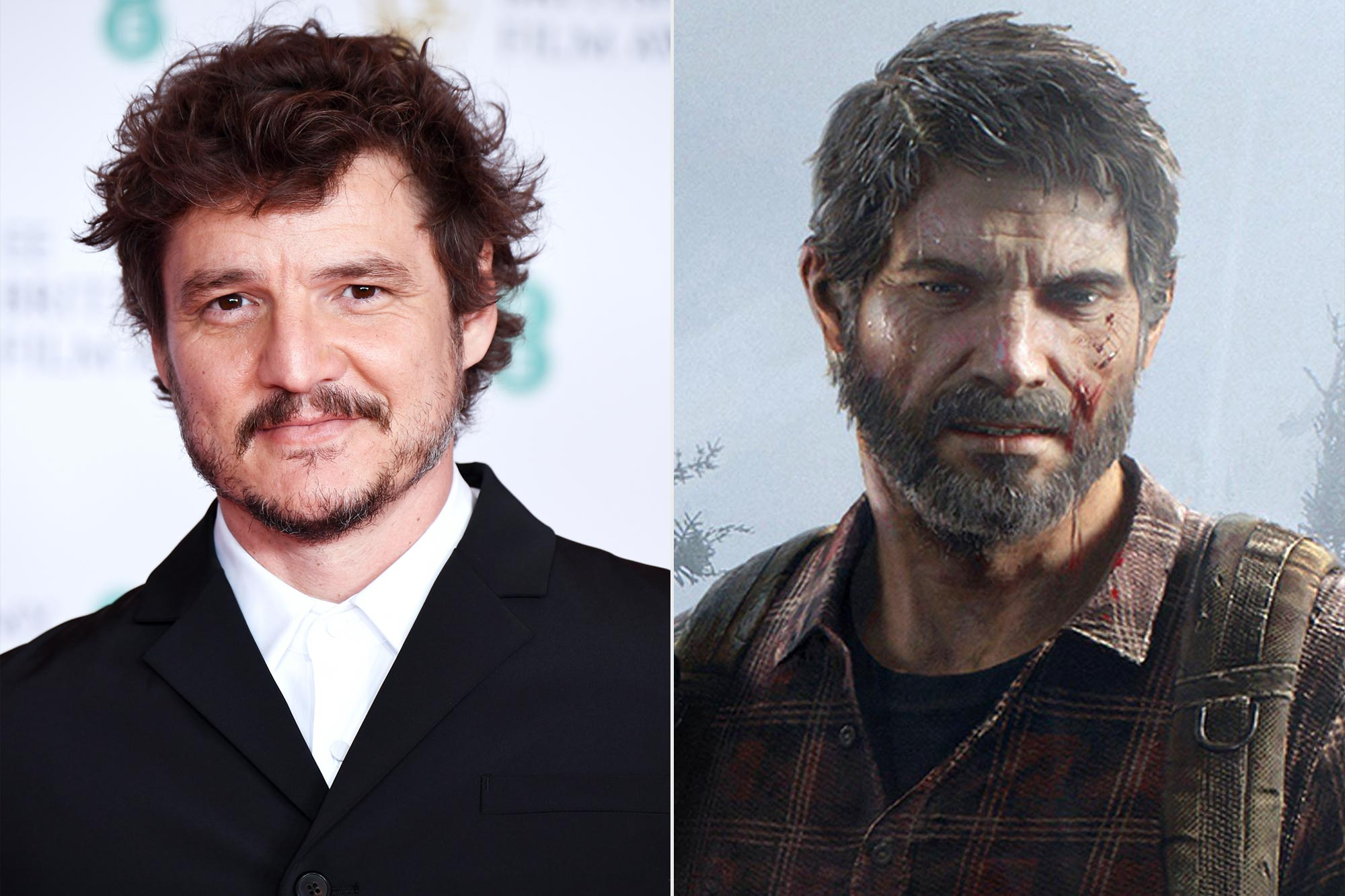Pedro Pascal; Joel from The Last of Us