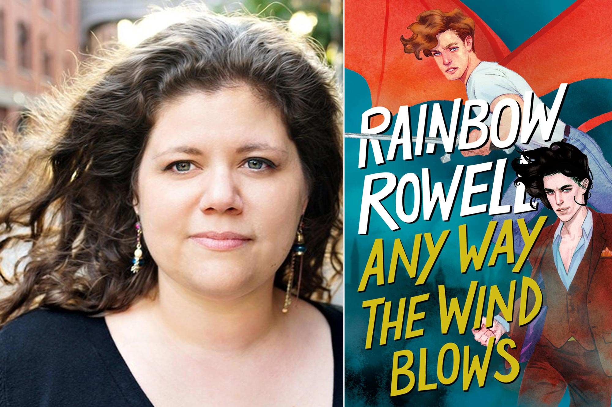 Anyway the Wind Blows By Rainbow Rowell