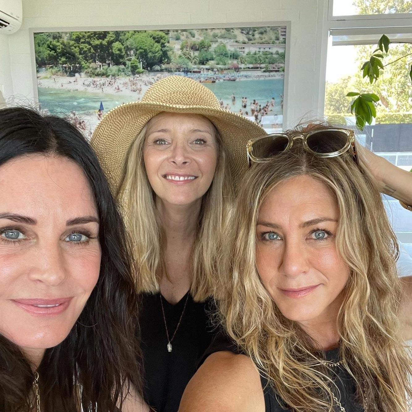Courteney Cox, Lisa Kudrow, Jennifer Aniston