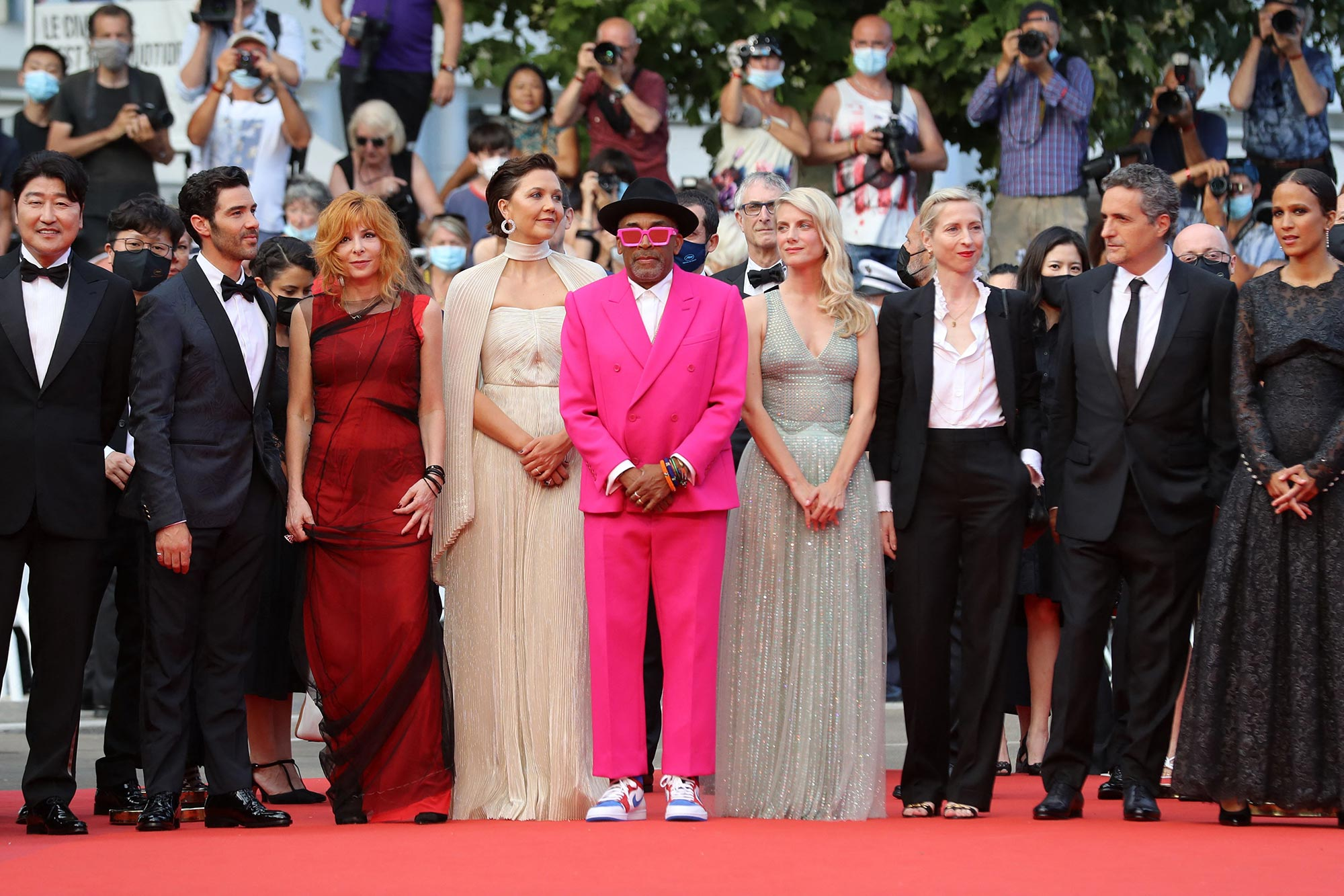 Cannes 2021 Red Carpet - The Cannes Jury