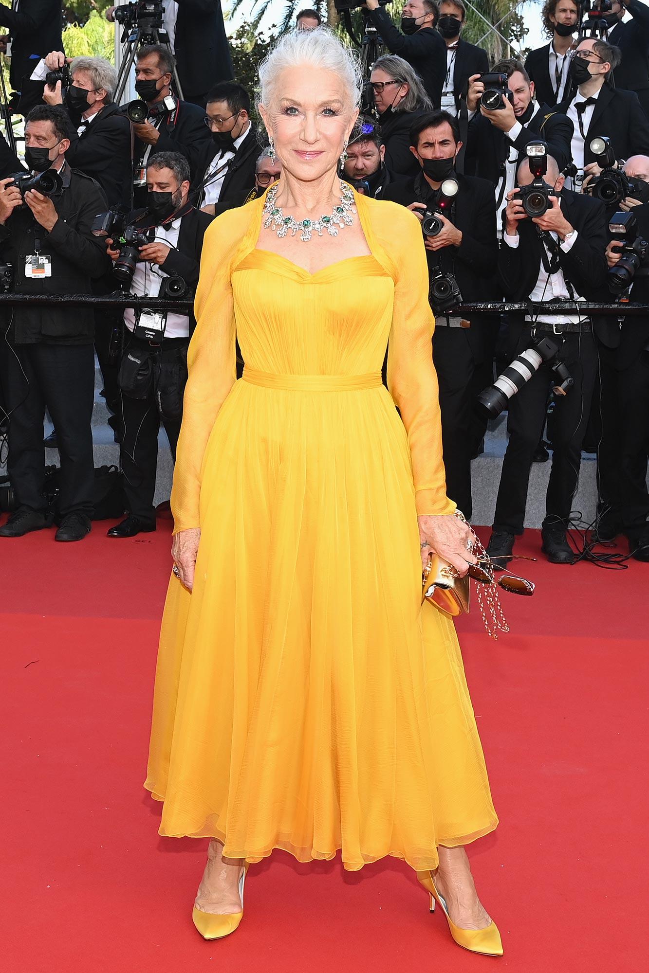 Cannes 2021 Red Carpet- Helen Mirren