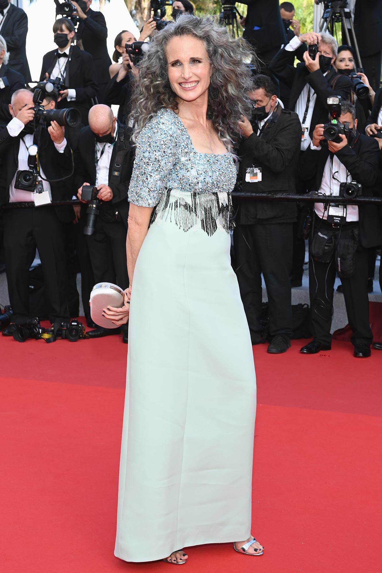 Cannes 2021 Red Carpet - Andie MacDowell