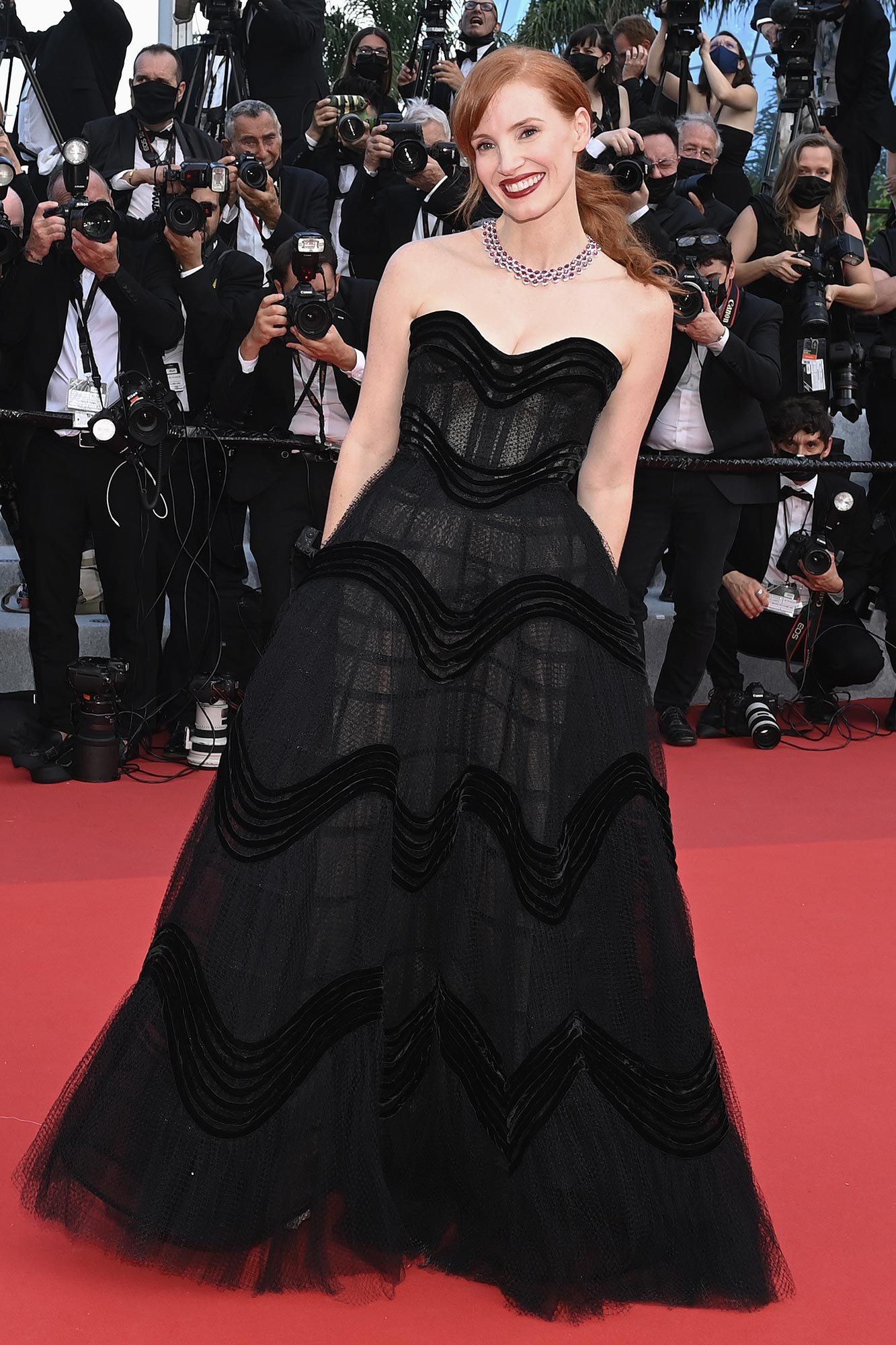 Cannes 2021 Red Carpet - Jessica Chastain