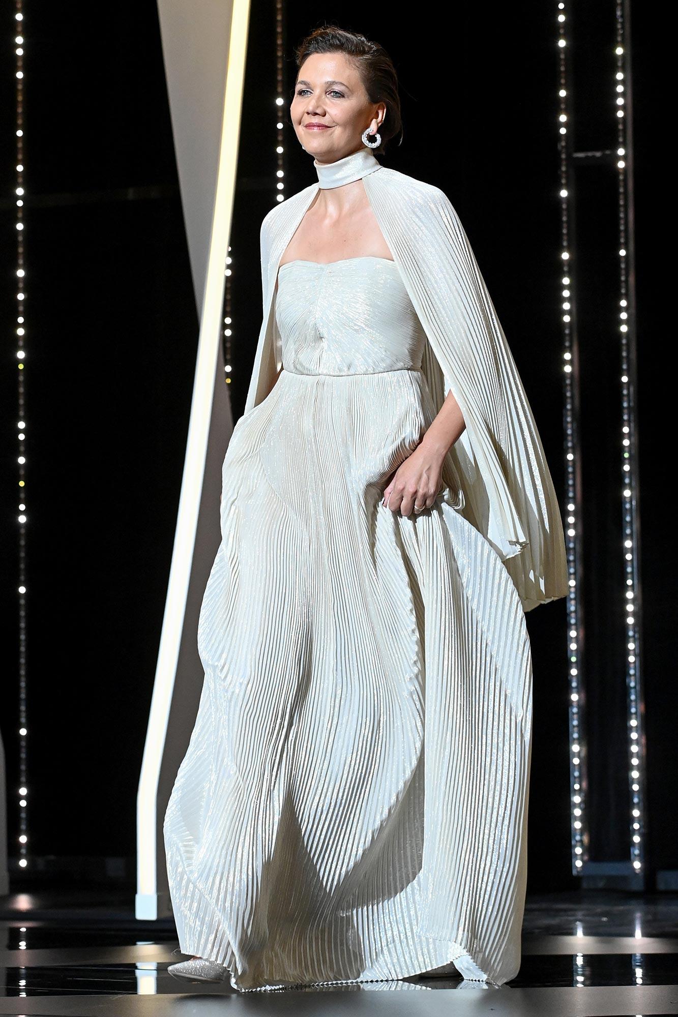 Cannes 2021 Red Carpet - Maggie Gyllenhaal
