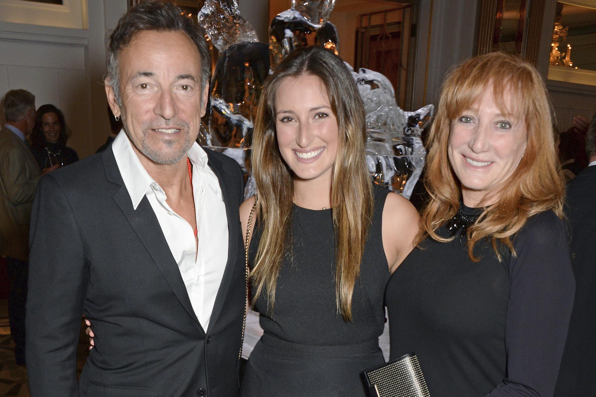Bruce Springsteen, Jessica Springsteen, Patti Scialfa