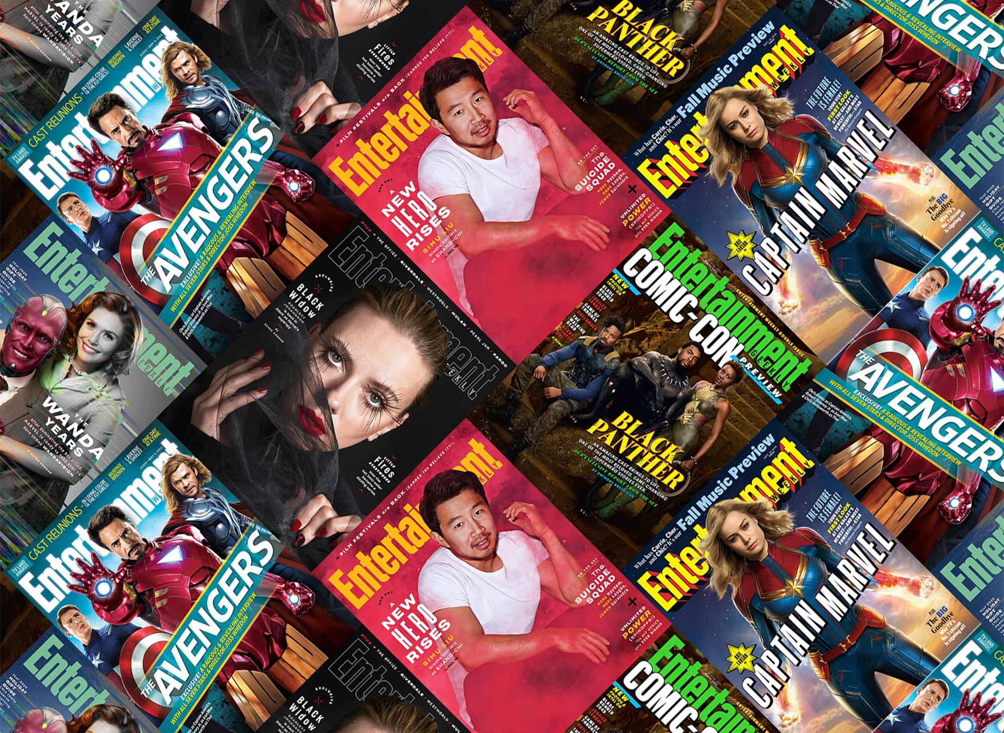 Marvel EW Covers