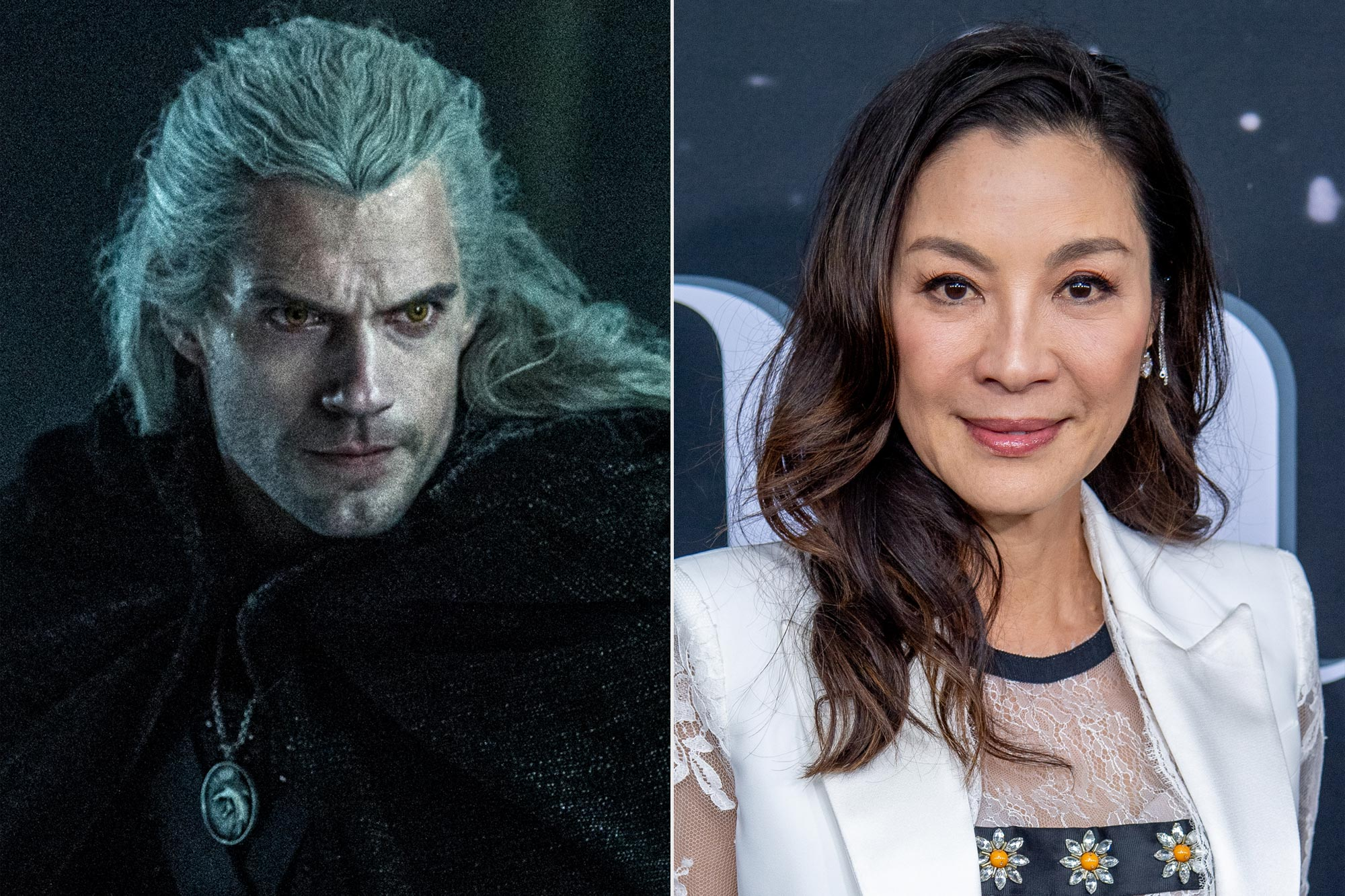 The Witcher; Michelle Yeoh