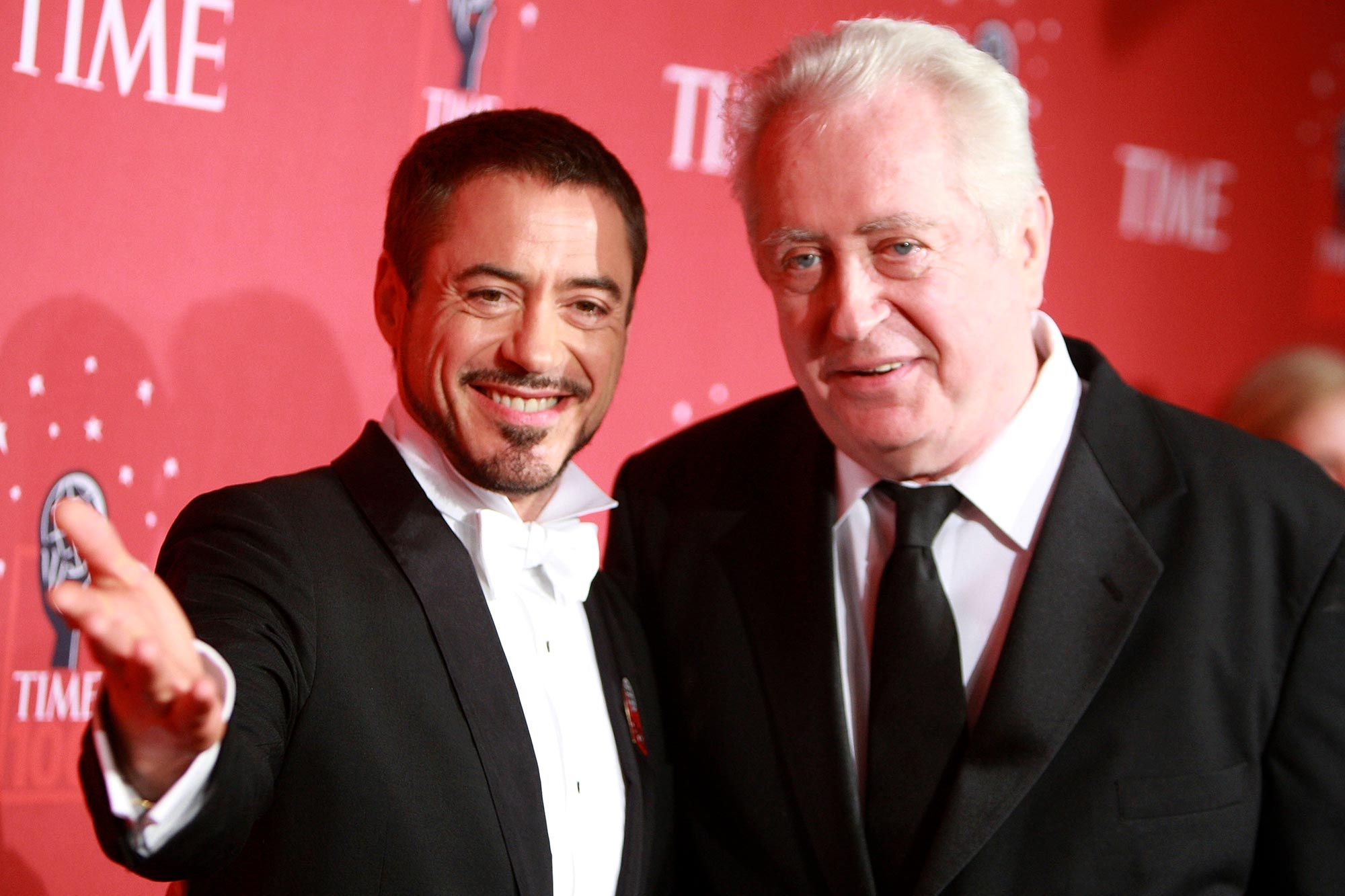 Robert Downey Jr. and father Robert Downey Sr.