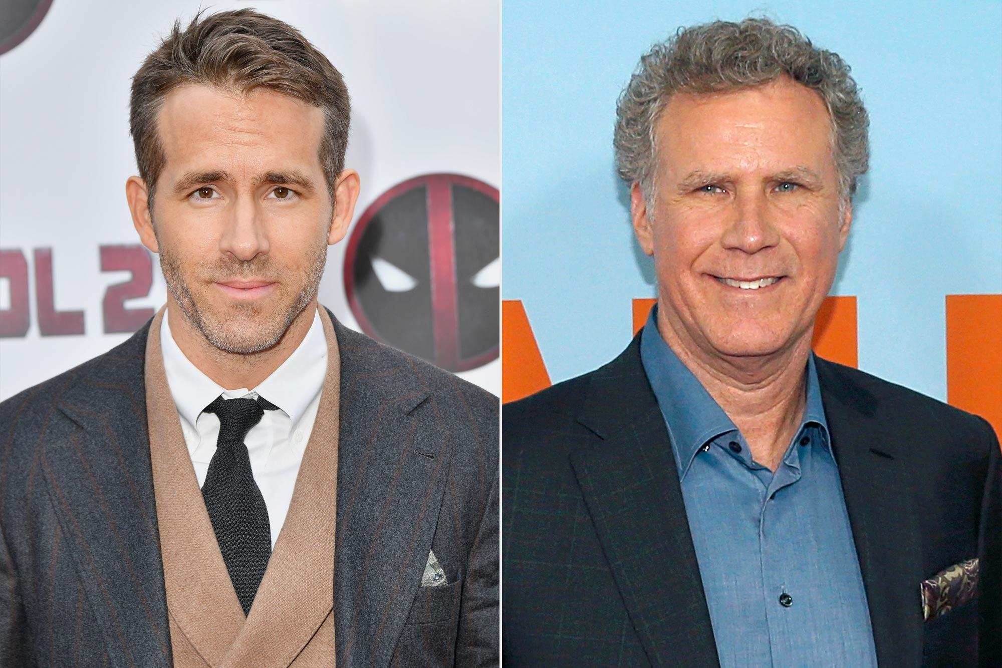 Ryan Reynolds and Will Ferrell
