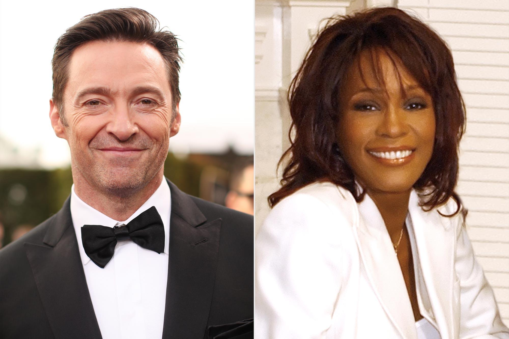 Hugh Jackman; Whitney Houston
