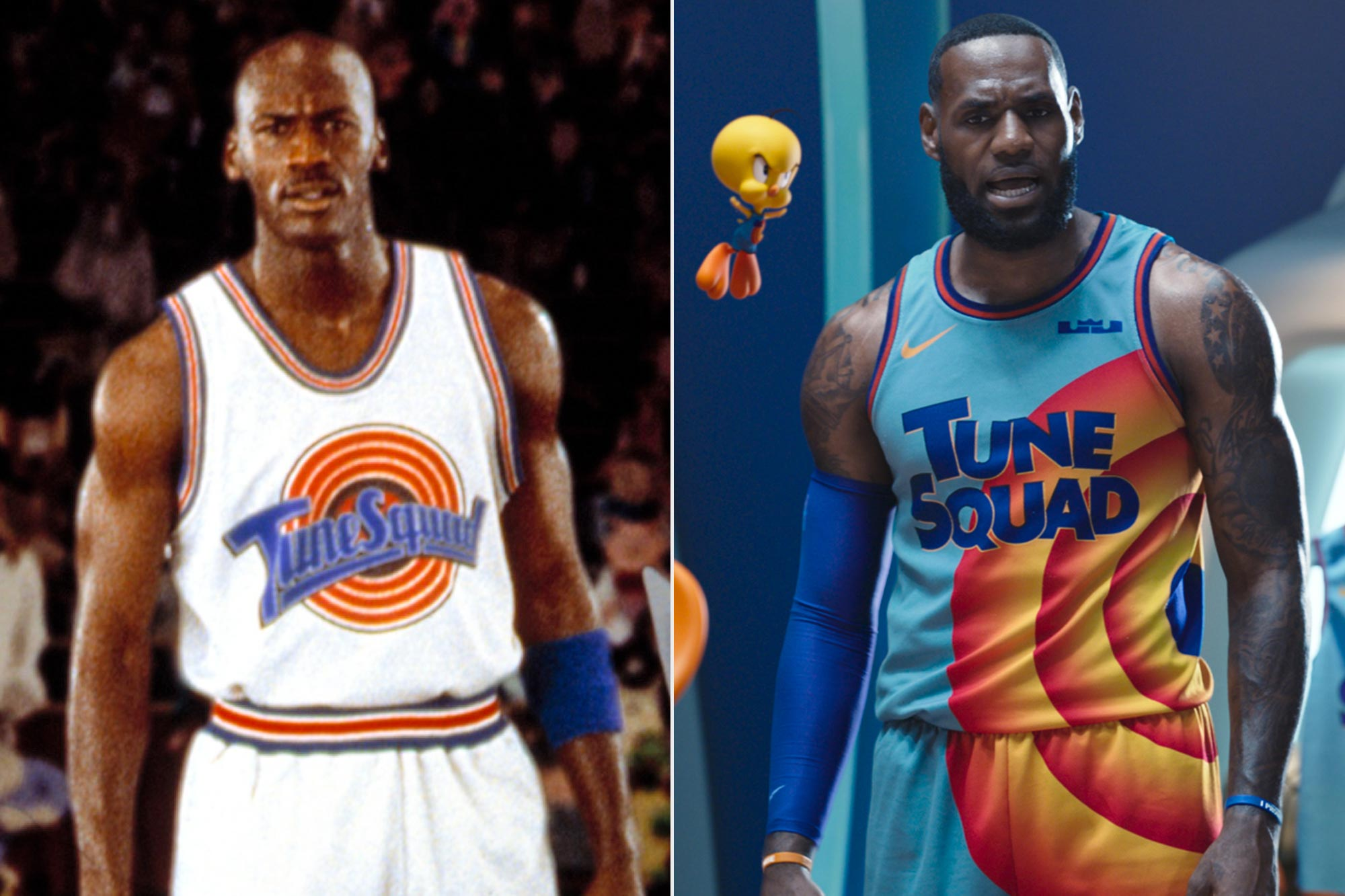 Space Jam; Space Jam A New Legacy