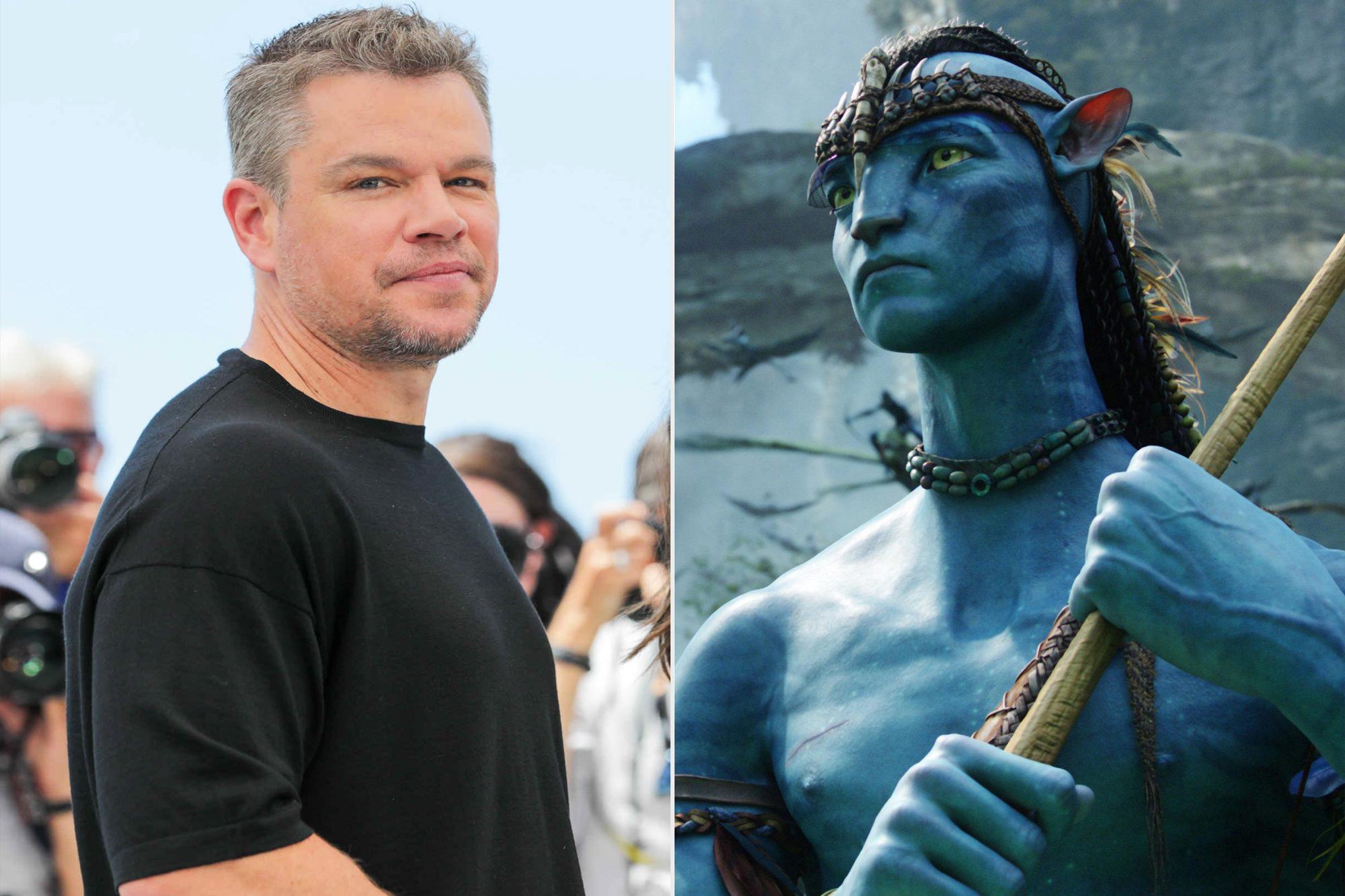 Matt Damon and Avatar