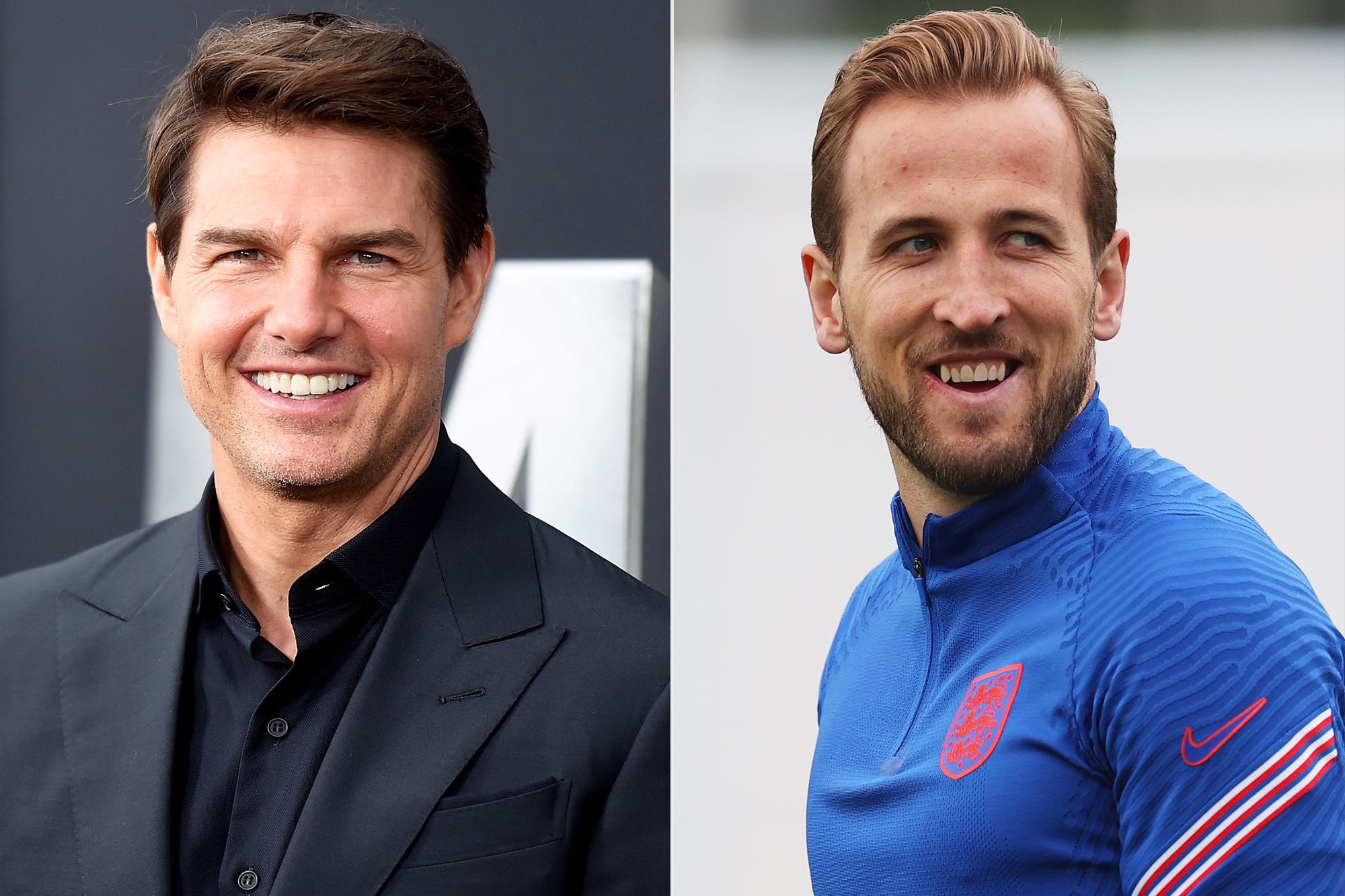Tom Cruise and Harry Kane