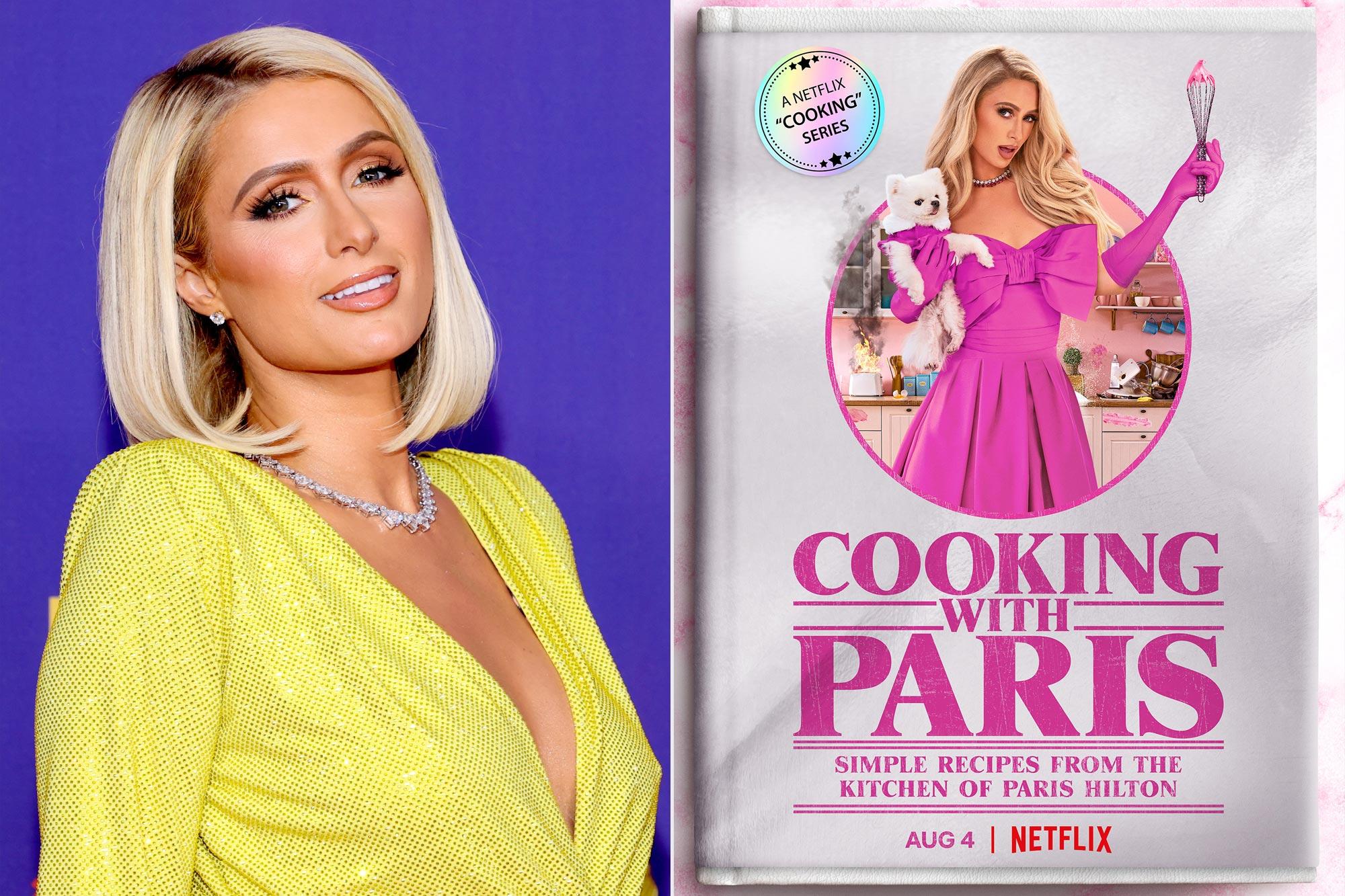 Paris Hilton; Cooking with Paris