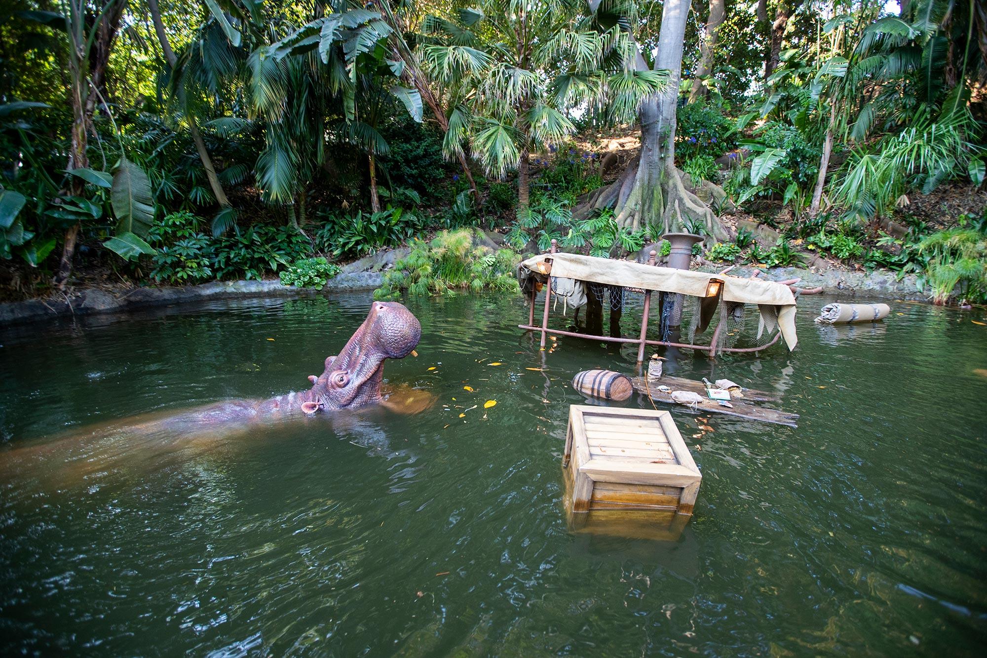 Disneyland's Jungle Cruise ride reopens