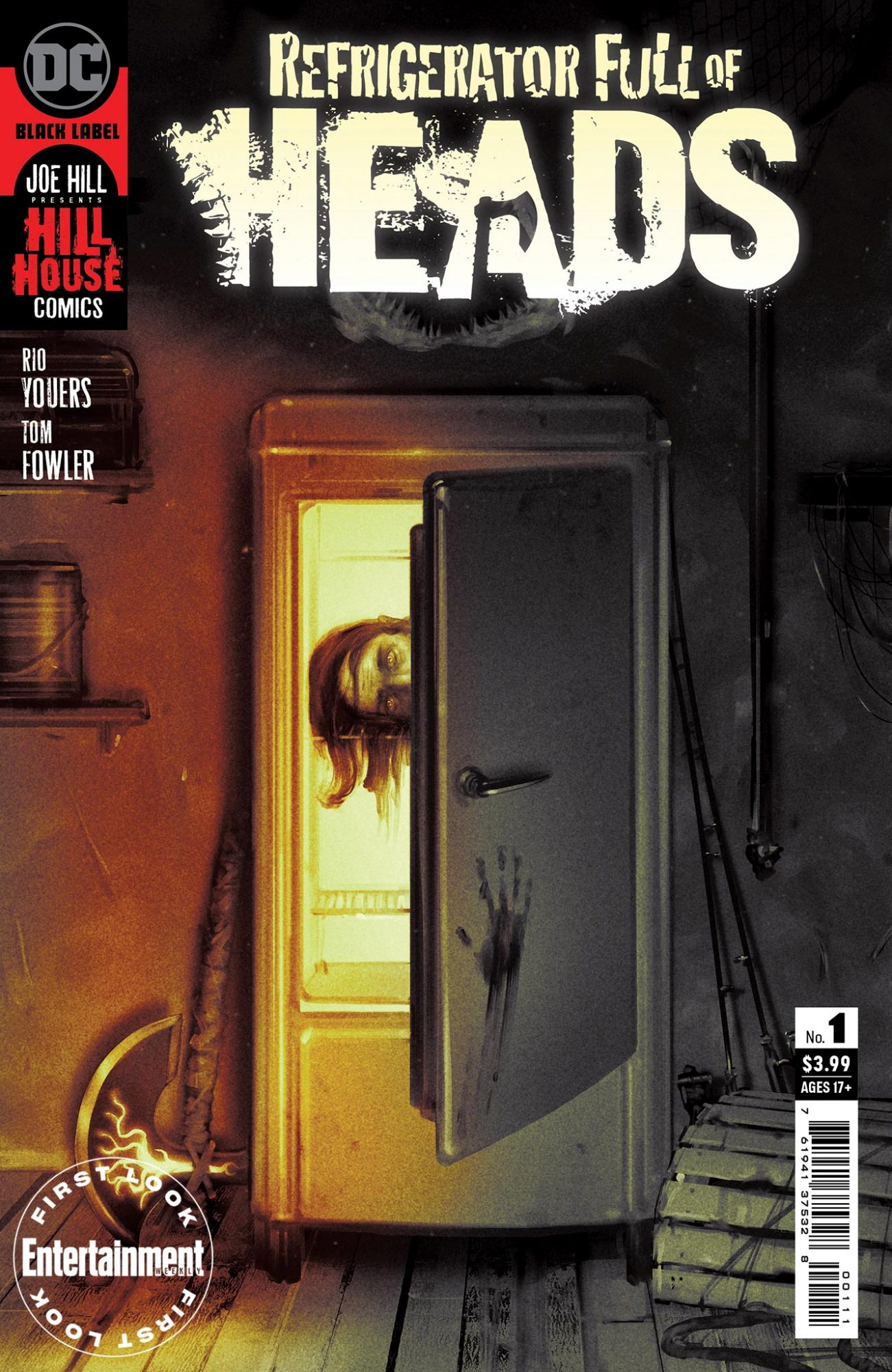 DC's Hill House Comics horror line returns with 'Refrigerator Full of Heads'
