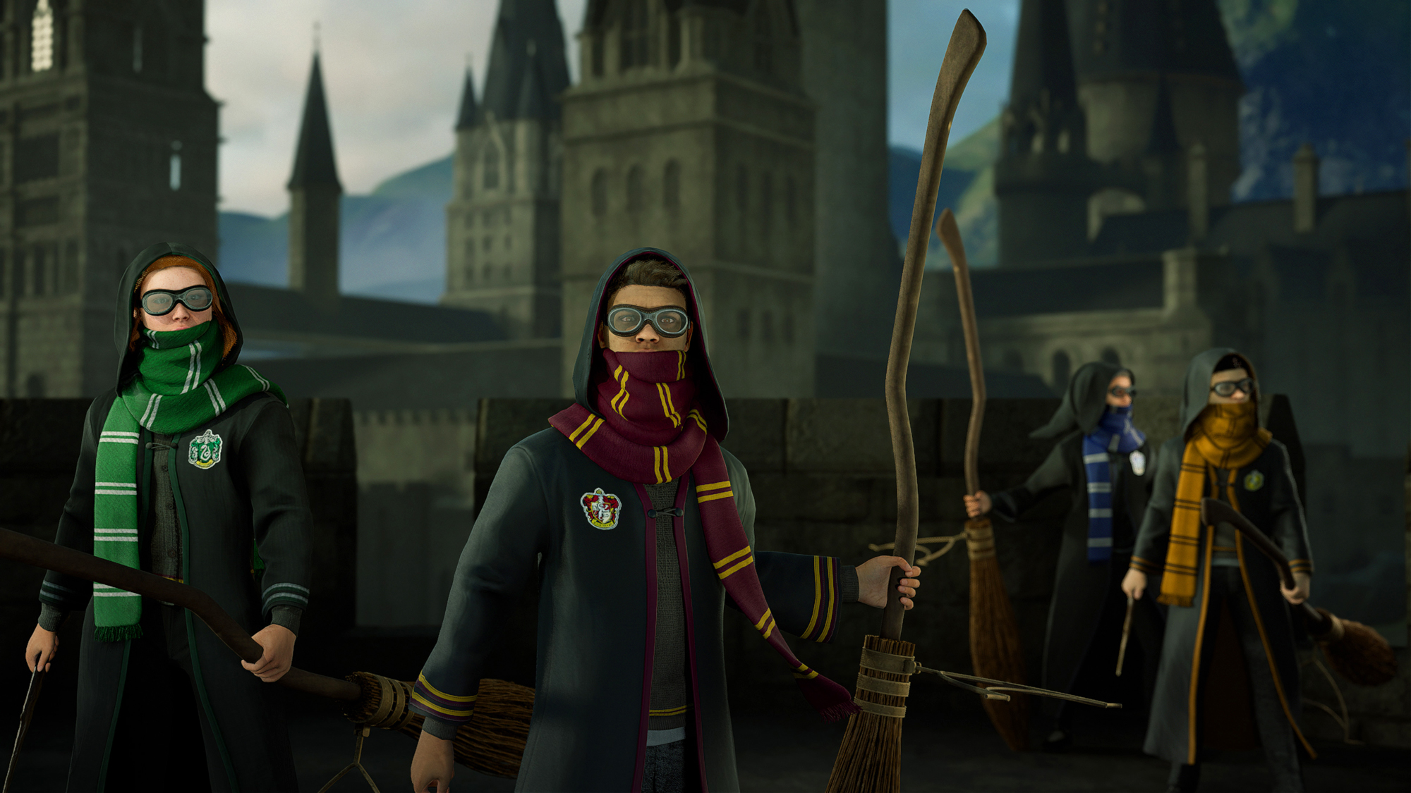 Harry Potter VR and NYC store