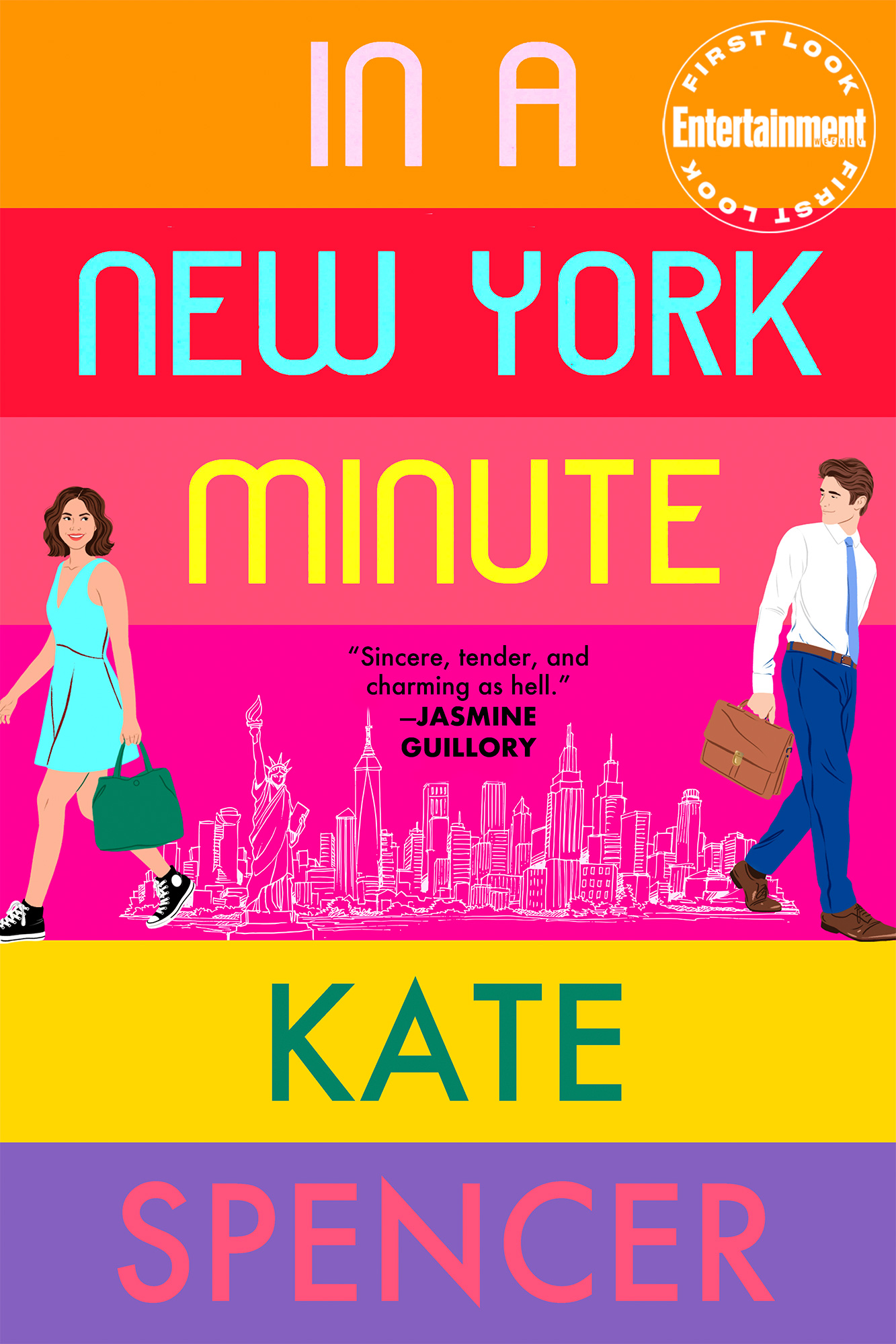 In a New York Minute by Kate Spencer