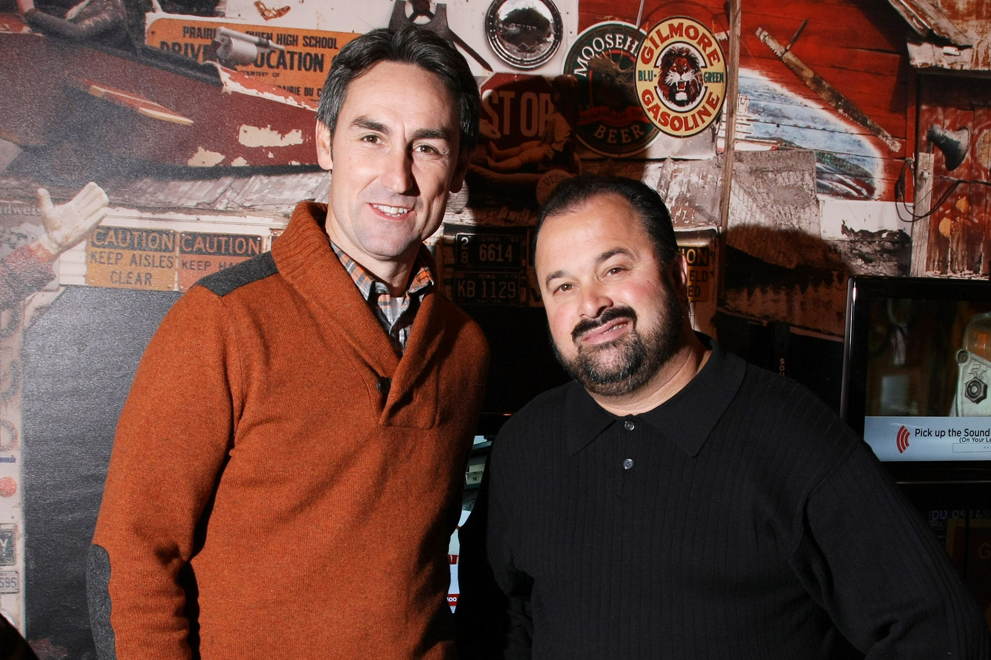 """Mike Wolfe and Frank Fritz from History Channels """"American pickers"""""""