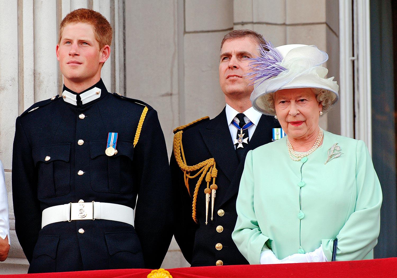 Prince Harry, Queen Elizabeth