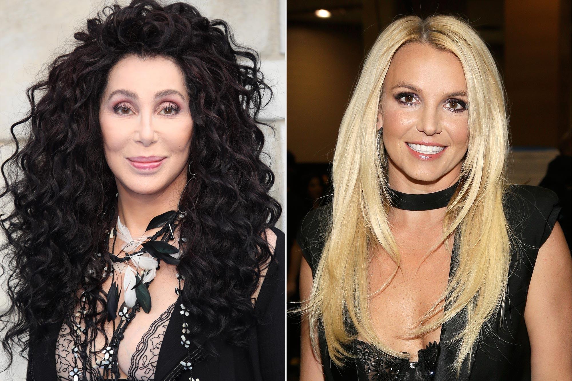 Cher; Britney Spears