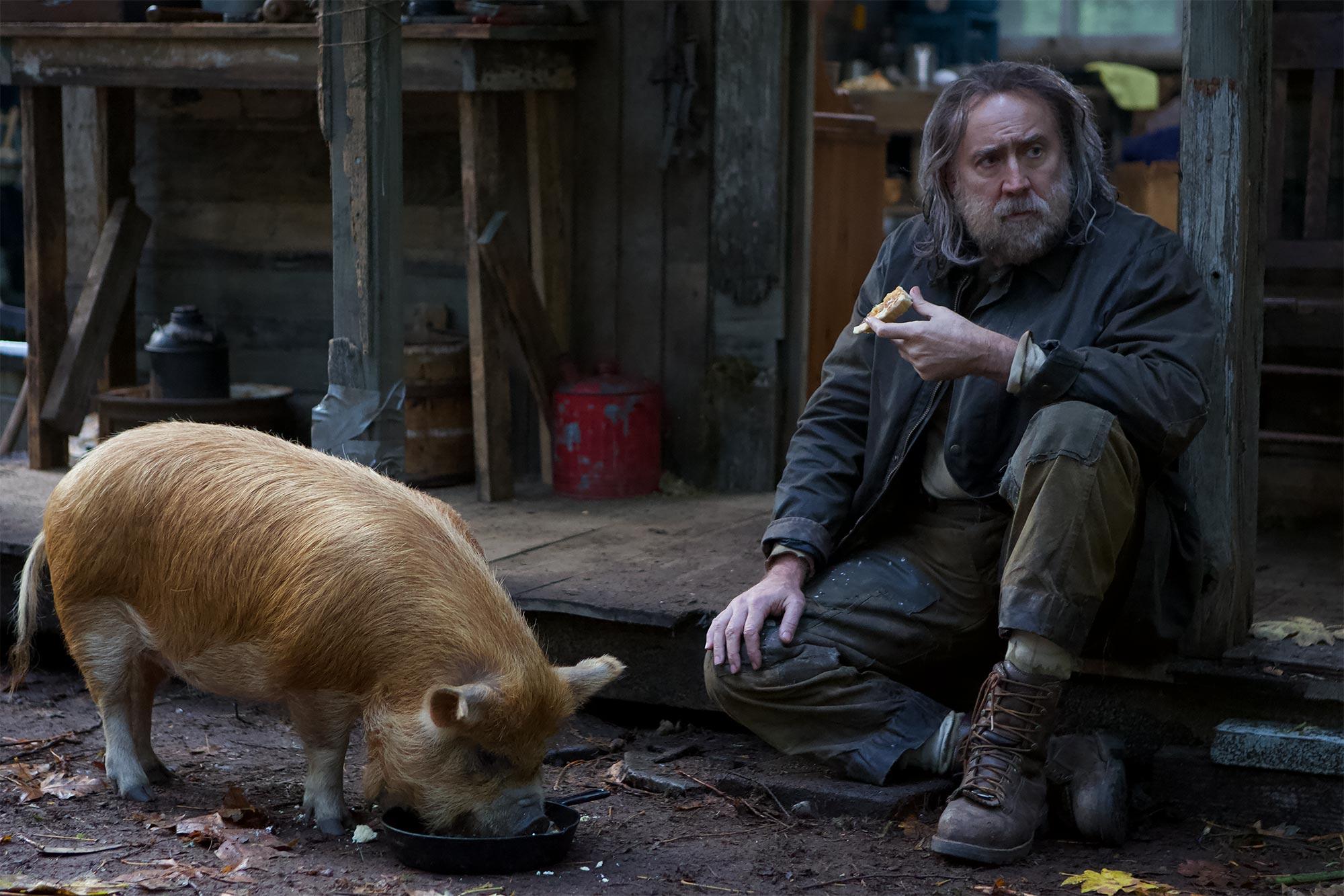 Nicolas Cage's new movie Pig lands actor's best Rotten Tomatoes score |  EW.com